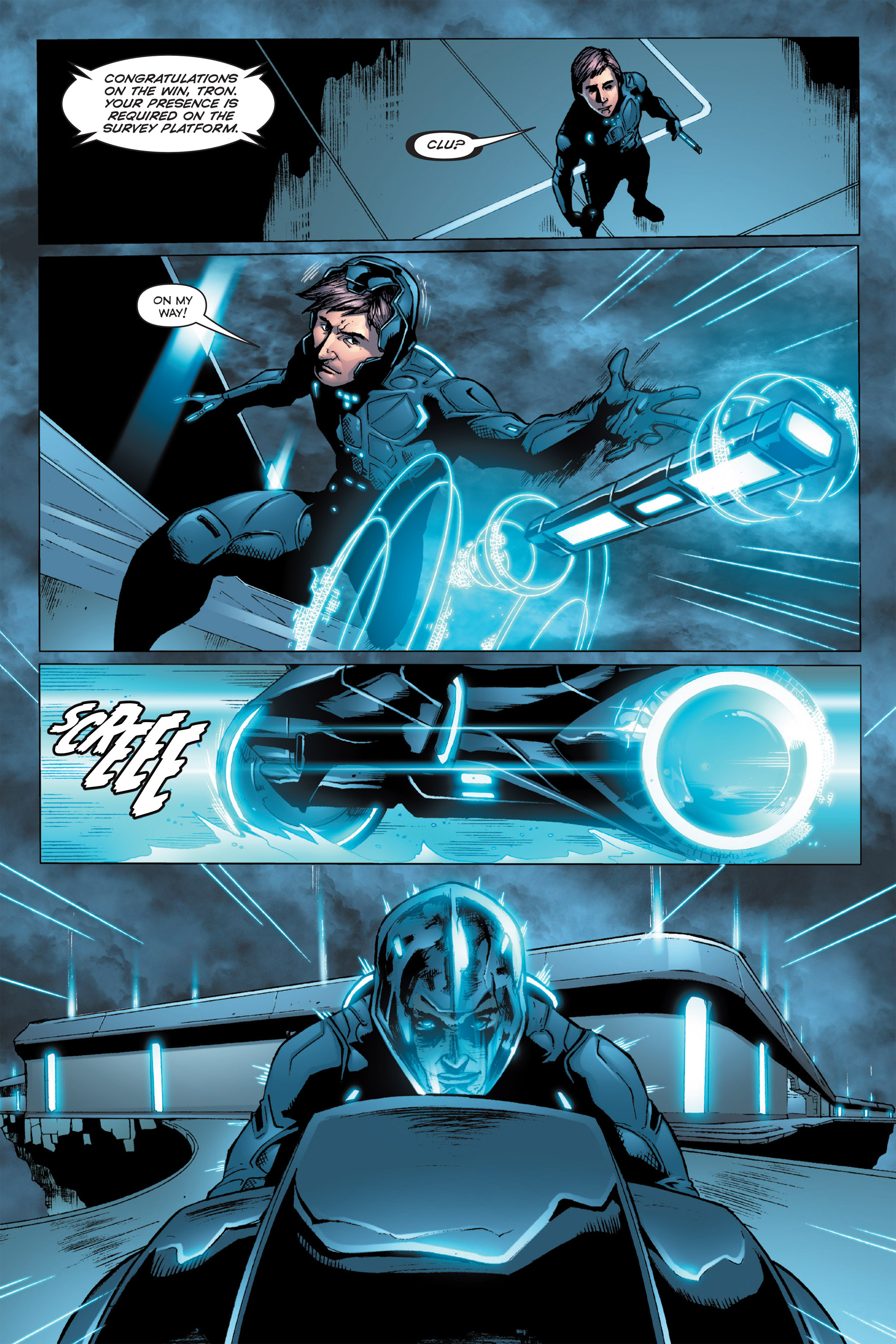 Read online TRON: Betrayal comic -  Issue # TPB - 32