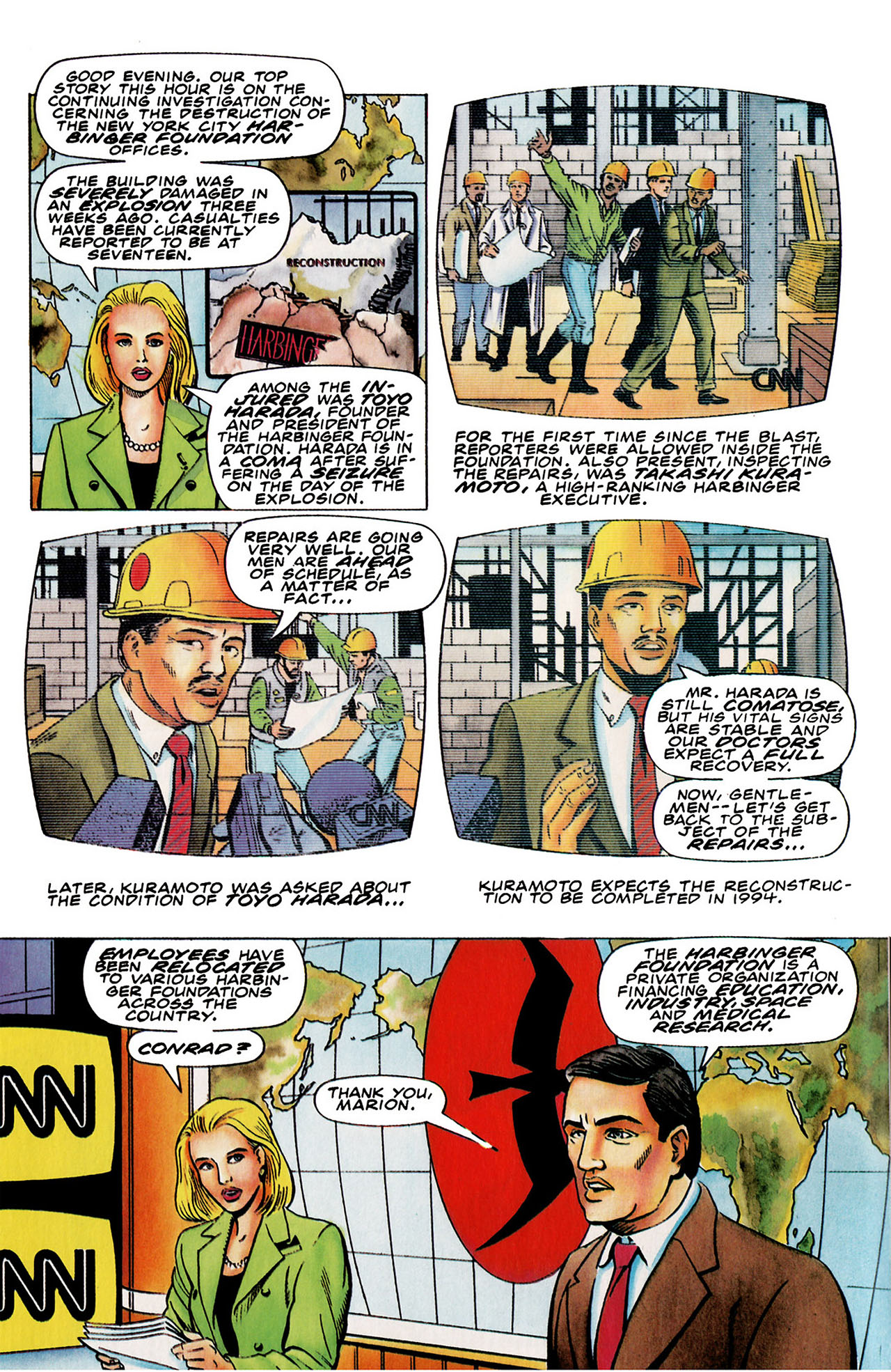 Read online Harbinger (1992) comic -  Issue #26 - 3