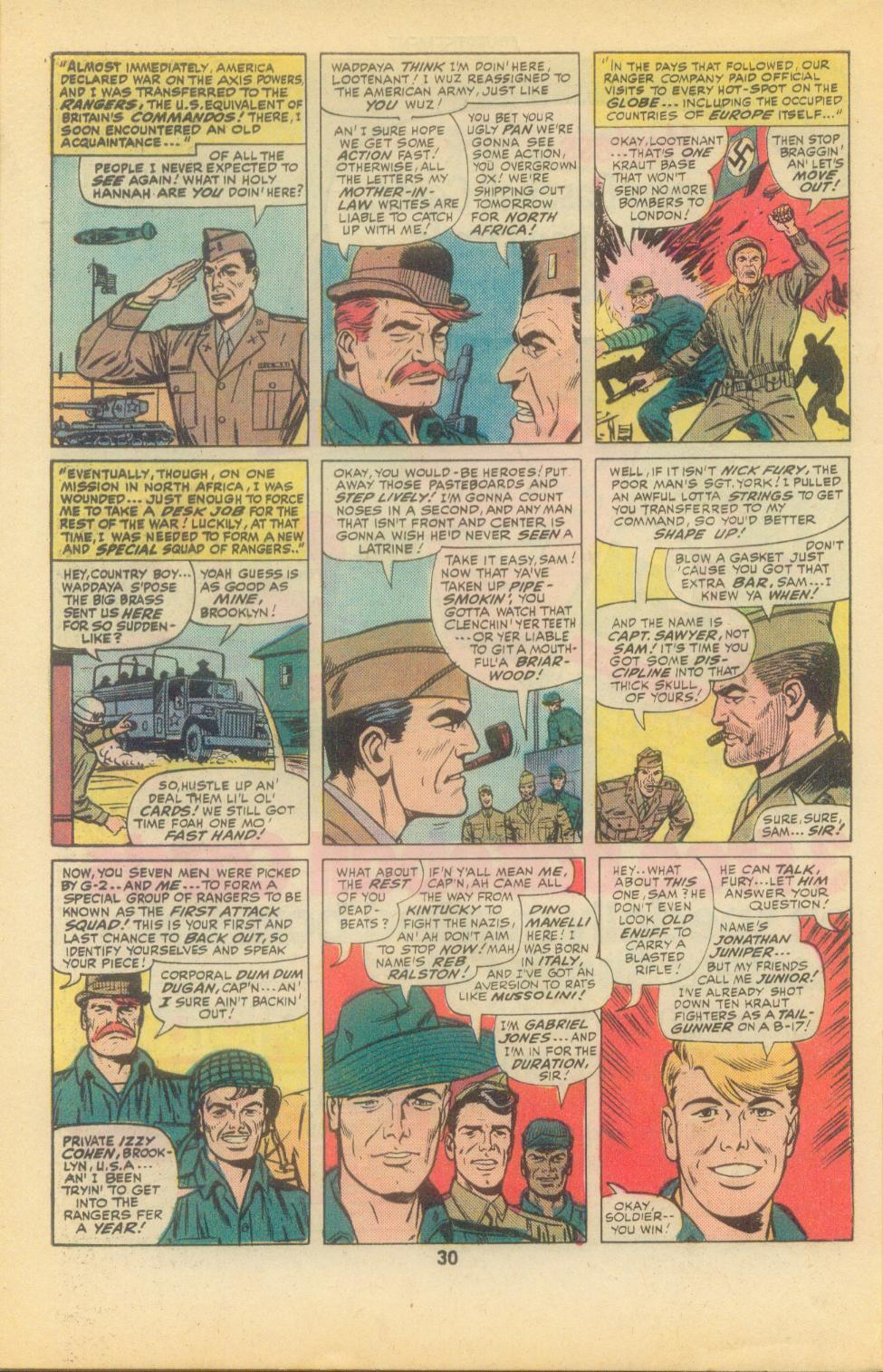 Read online Sgt. Fury comic -  Issue #136 - 32