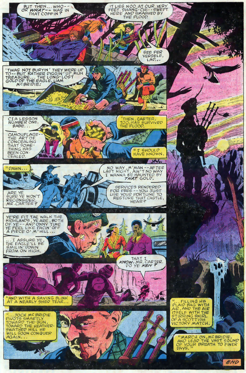 Read online Master of Kung Fu (1974) comic -  Issue #120 - 20