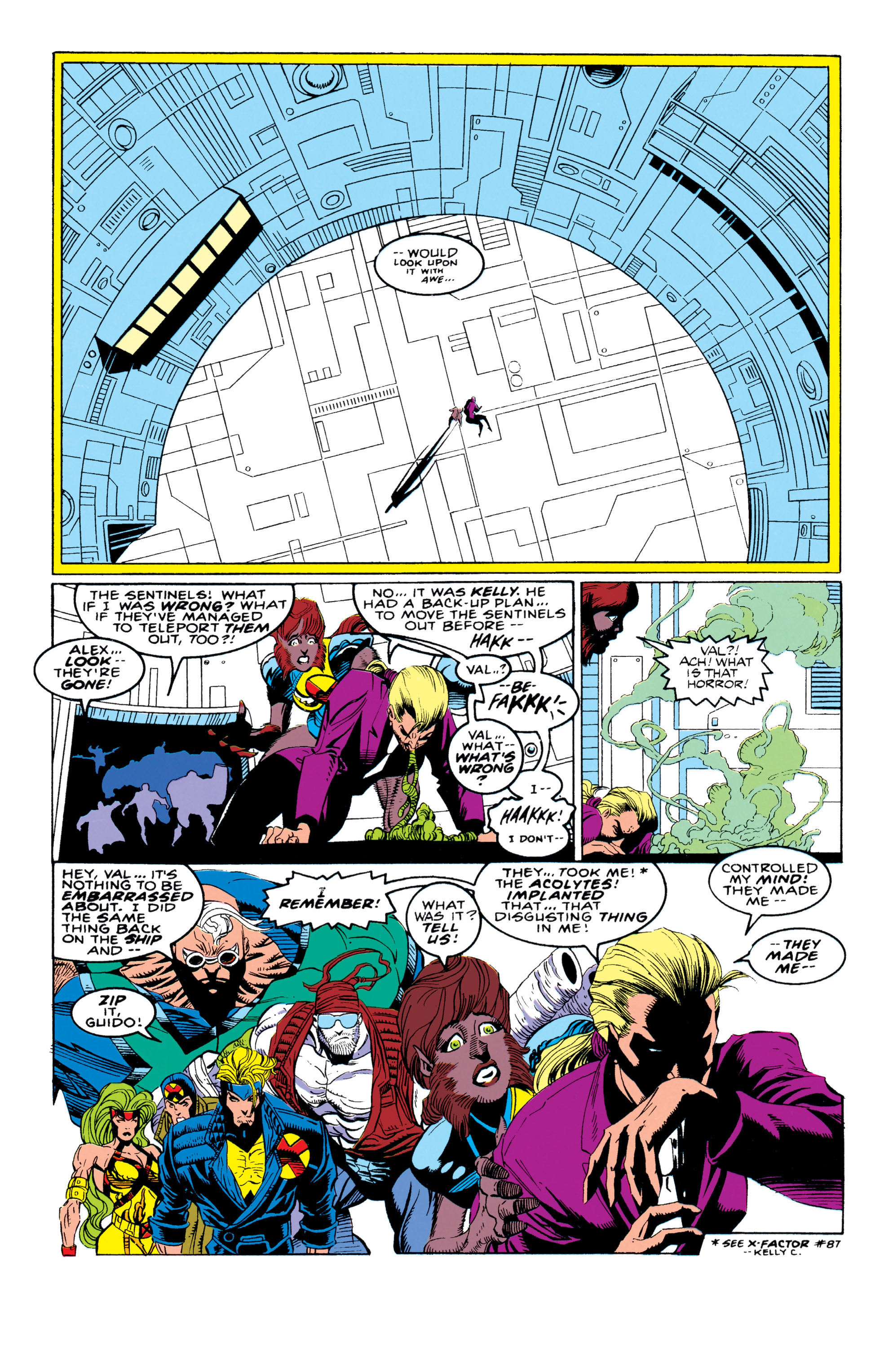 Read online X-Factor (1986) comic -  Issue #92 - 31