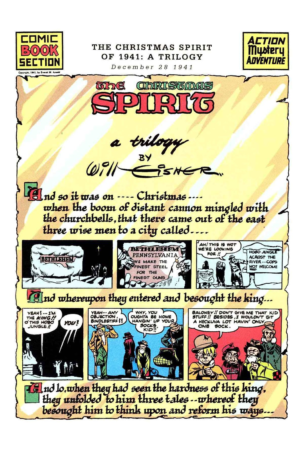 Read online Will Eisner's The Spirit Archives comic -  Issue # TPB 3 (Part 2) - 102