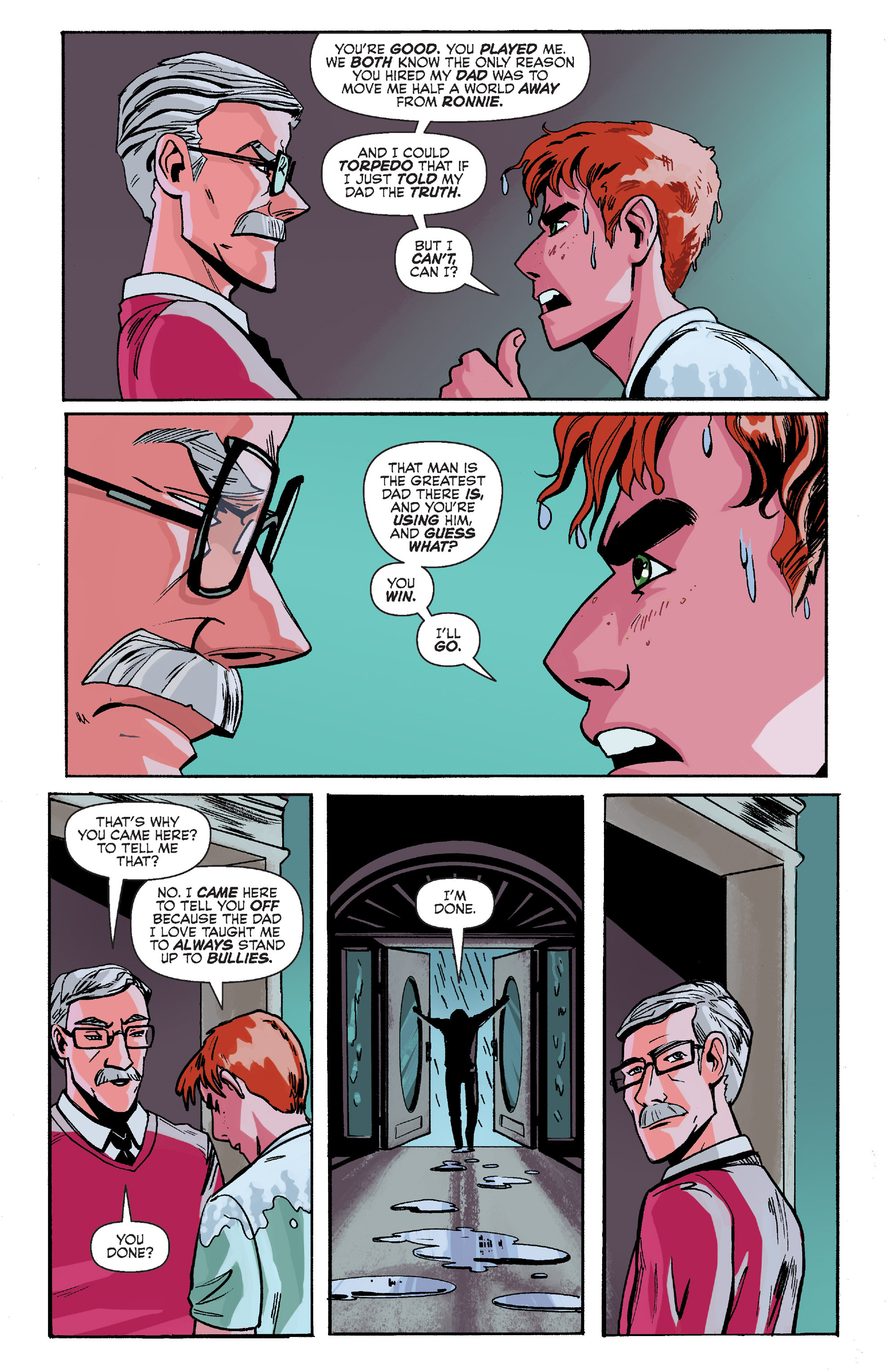 Read online Archie (2015) comic -  Issue #8 - 21