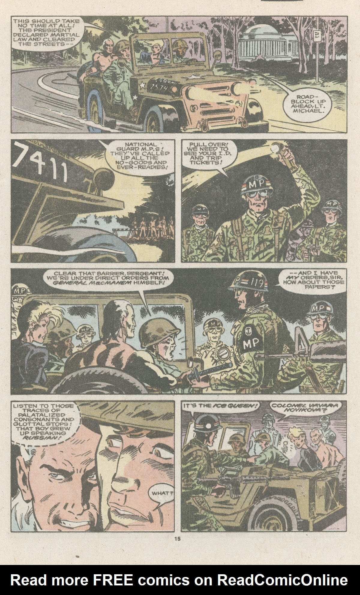 Read online Nth Man the Ultimate Ninja comic -  Issue #11 - 17