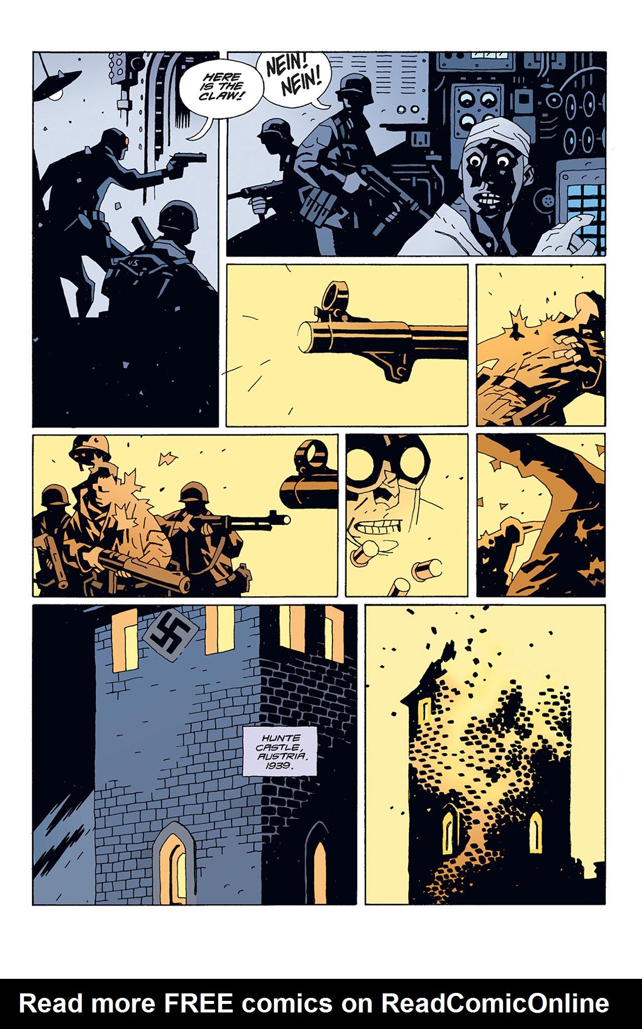 Read online Hellboy: Conqueror Worm comic -  Issue #1 - 8