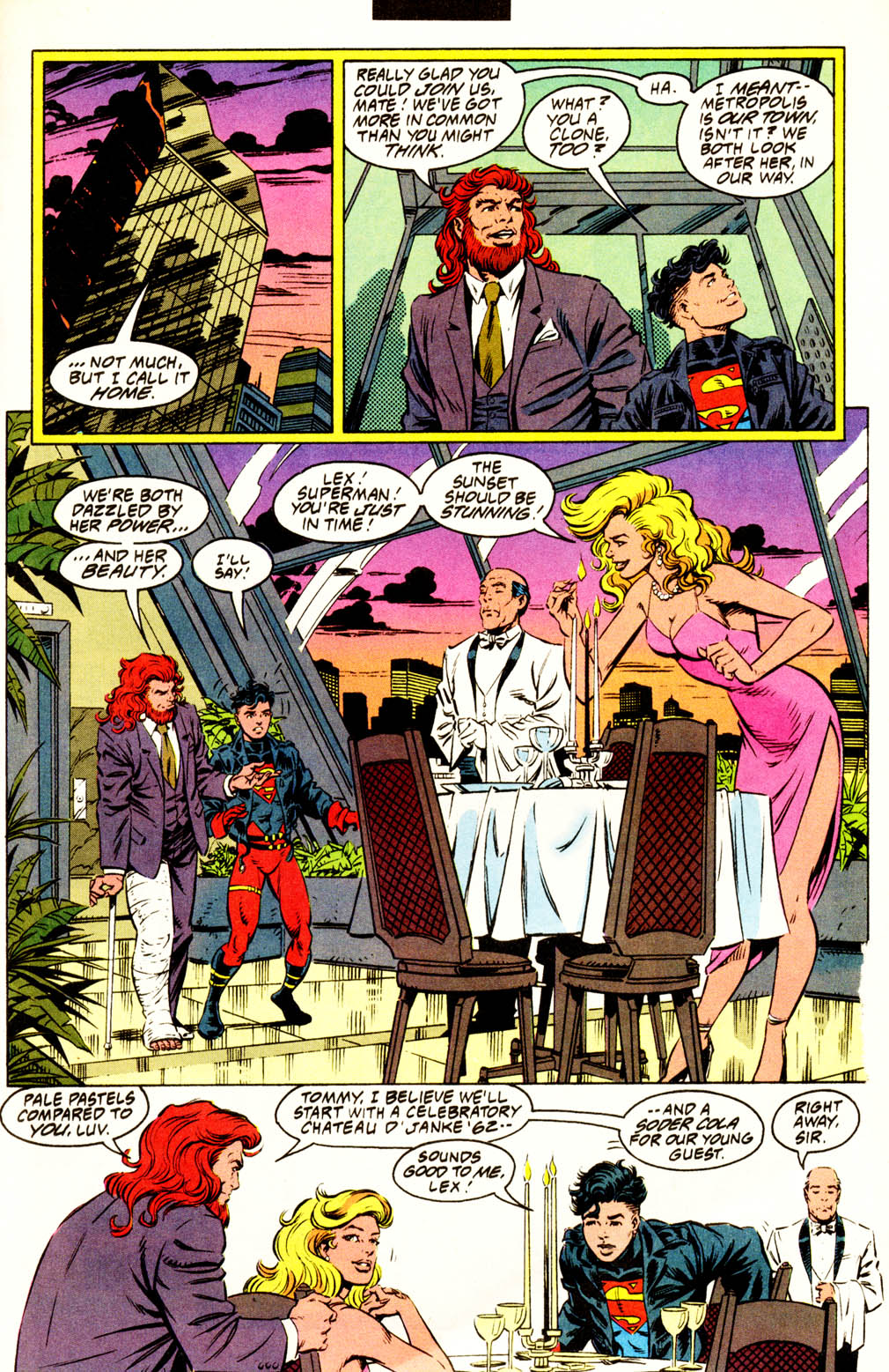 Read online Adventures of Superman (1987) comic -  Issue #502 - 8