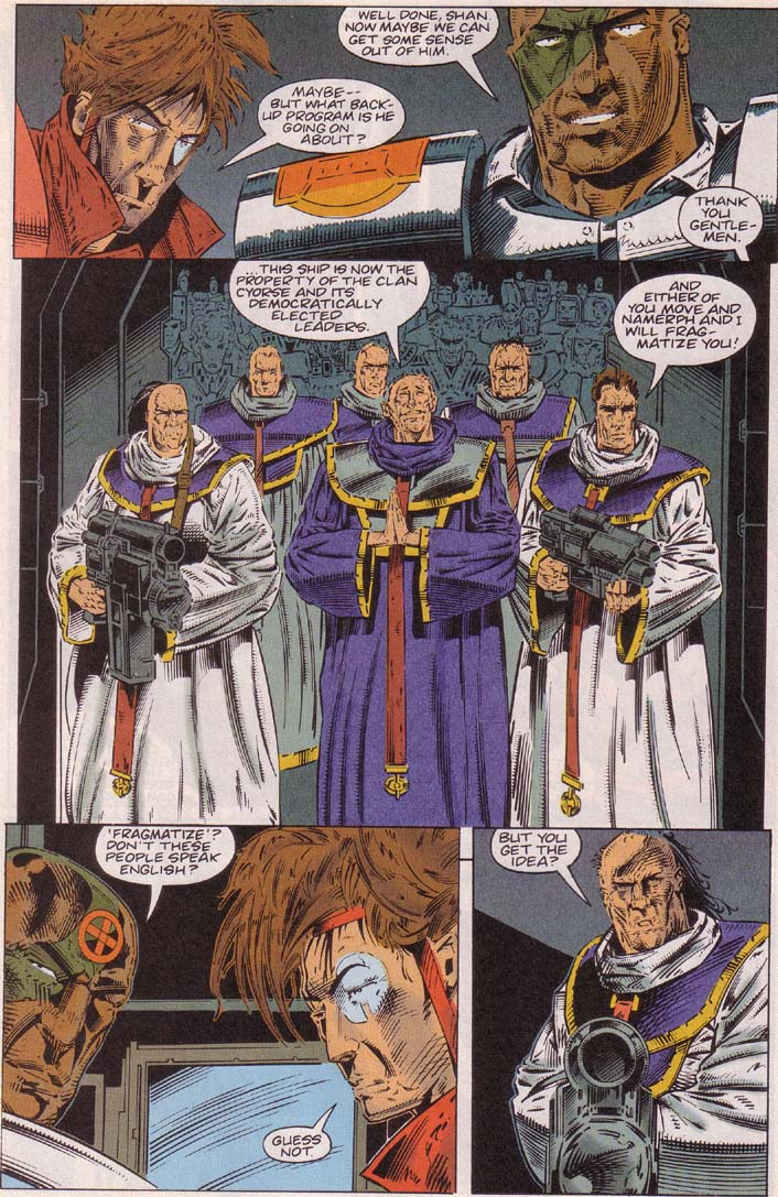Read online Cyberspace 3000 comic -  Issue #3 - 18