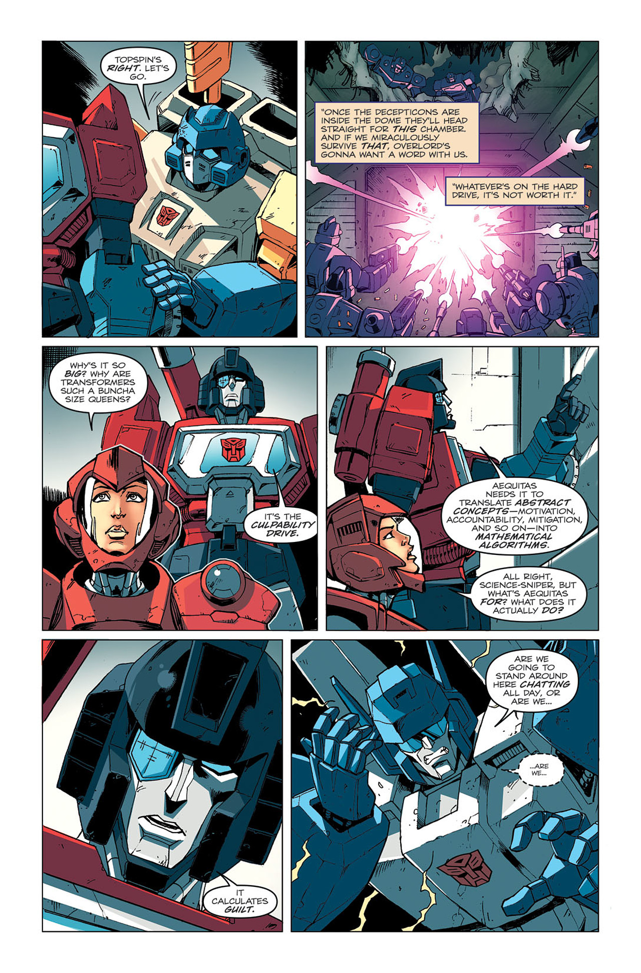 Read online Transformers: Last Stand of The Wreckers comic -  Issue #4 - 8
