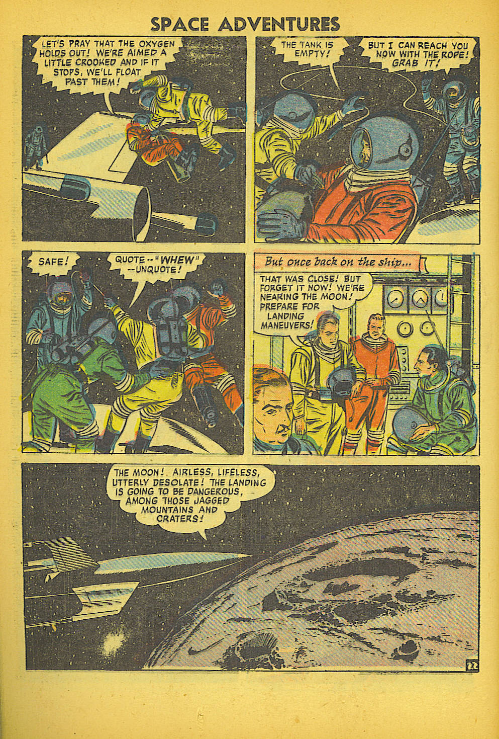 Space Adventures (1952) issue 20 - Page 24