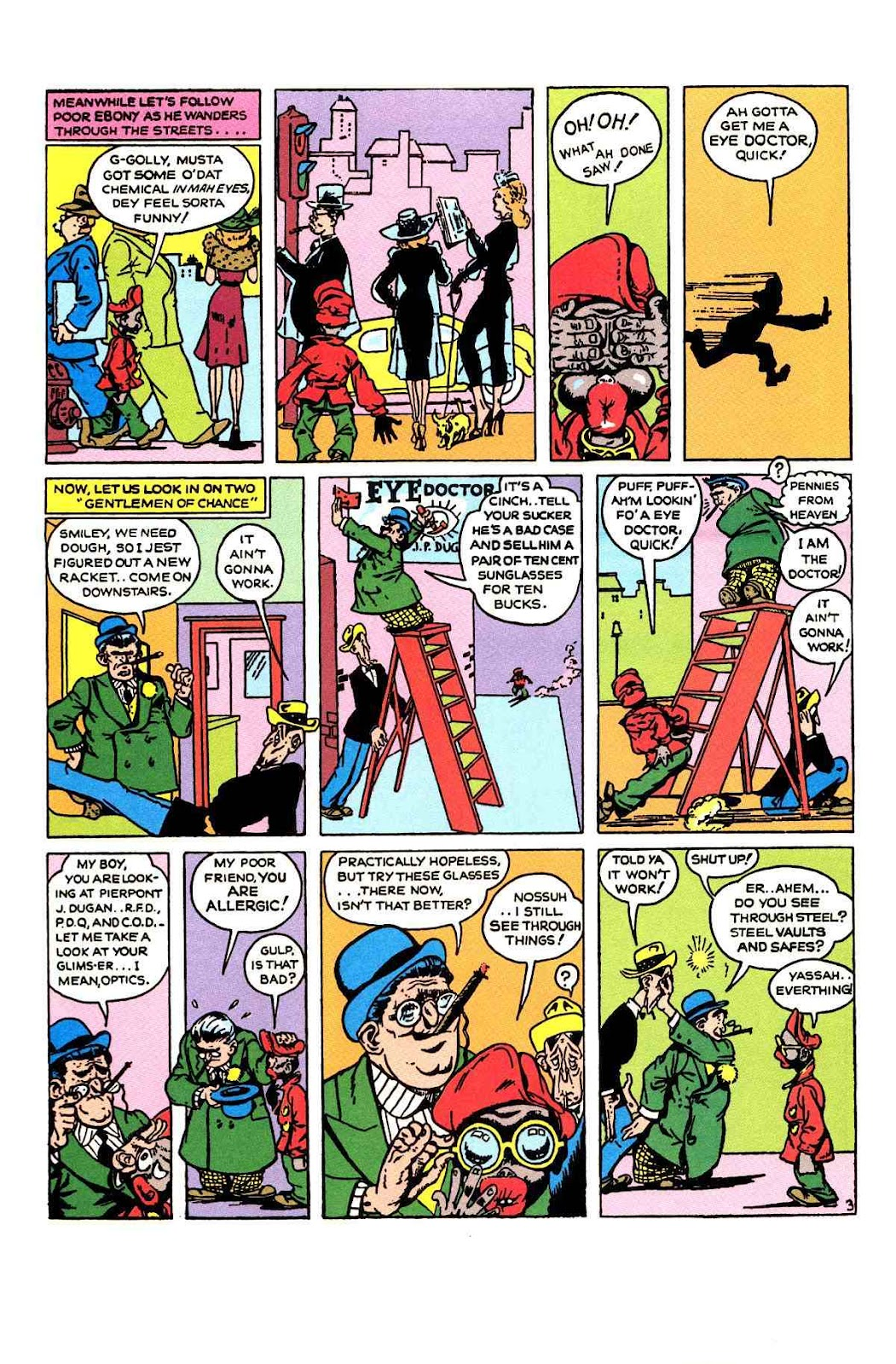 Read online Will Eisner's The Spirit Archives comic -  Issue # TPB 1 (Part 2) - 9