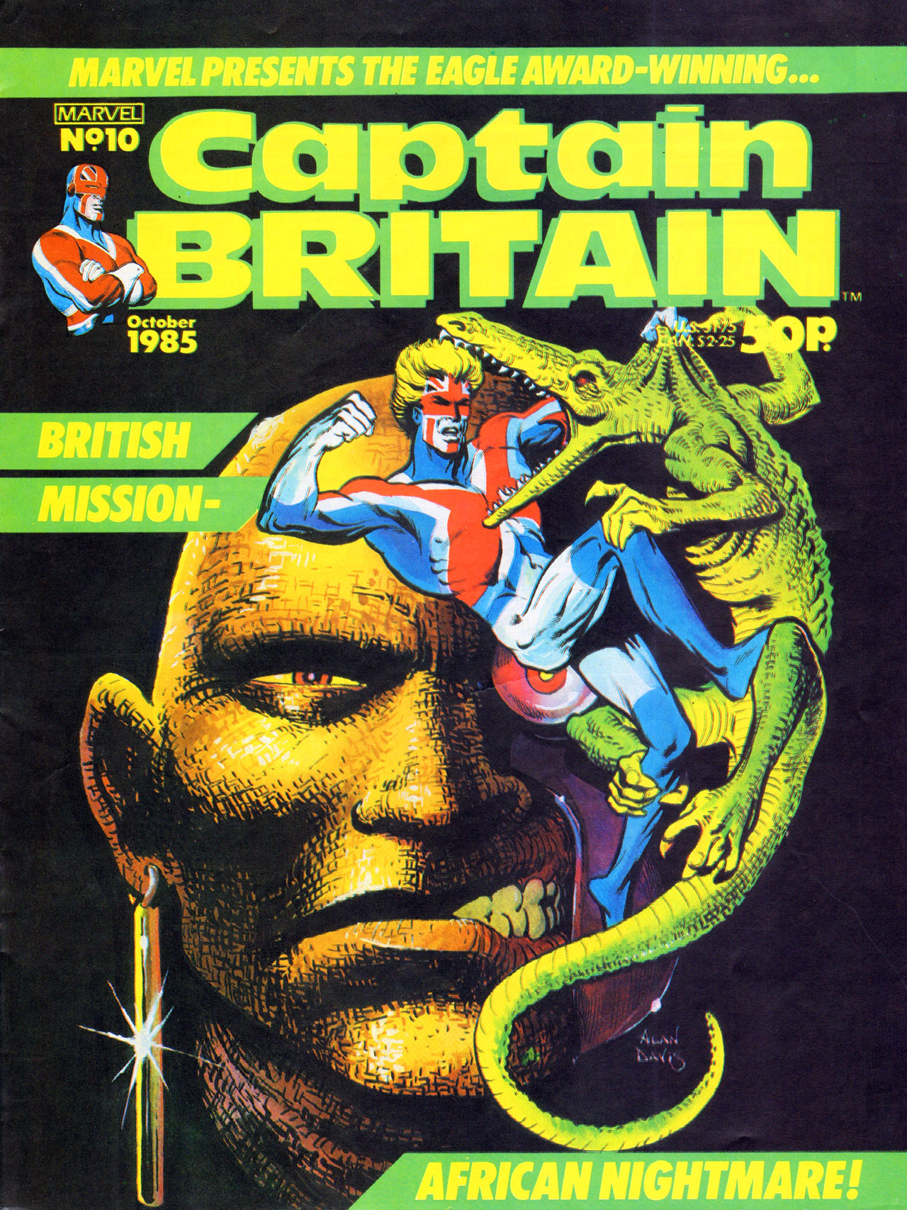 Captain Britain (1985) 10 Page 1