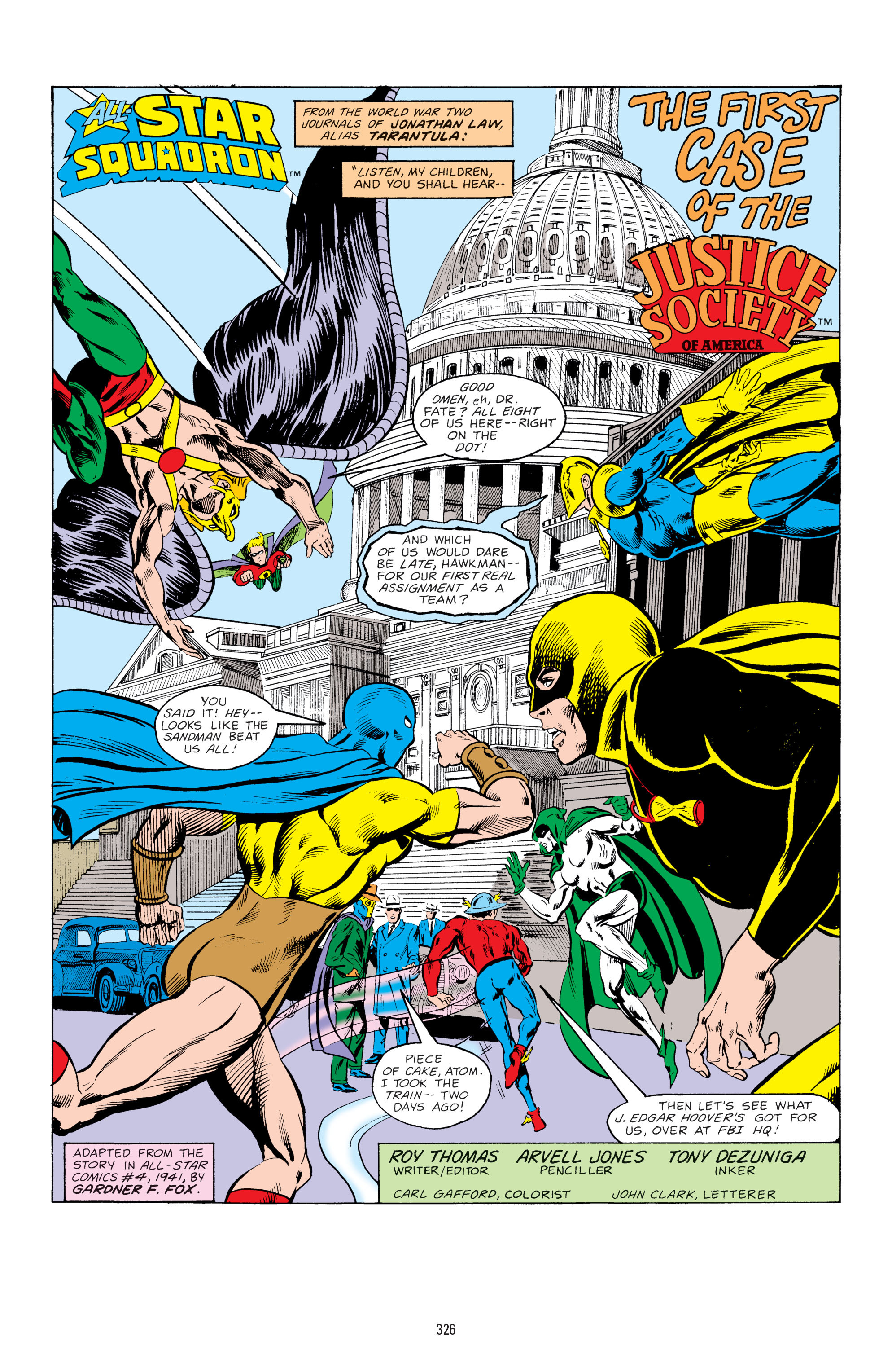 Read online All-Star Squadron comic -  Issue #67 - 2
