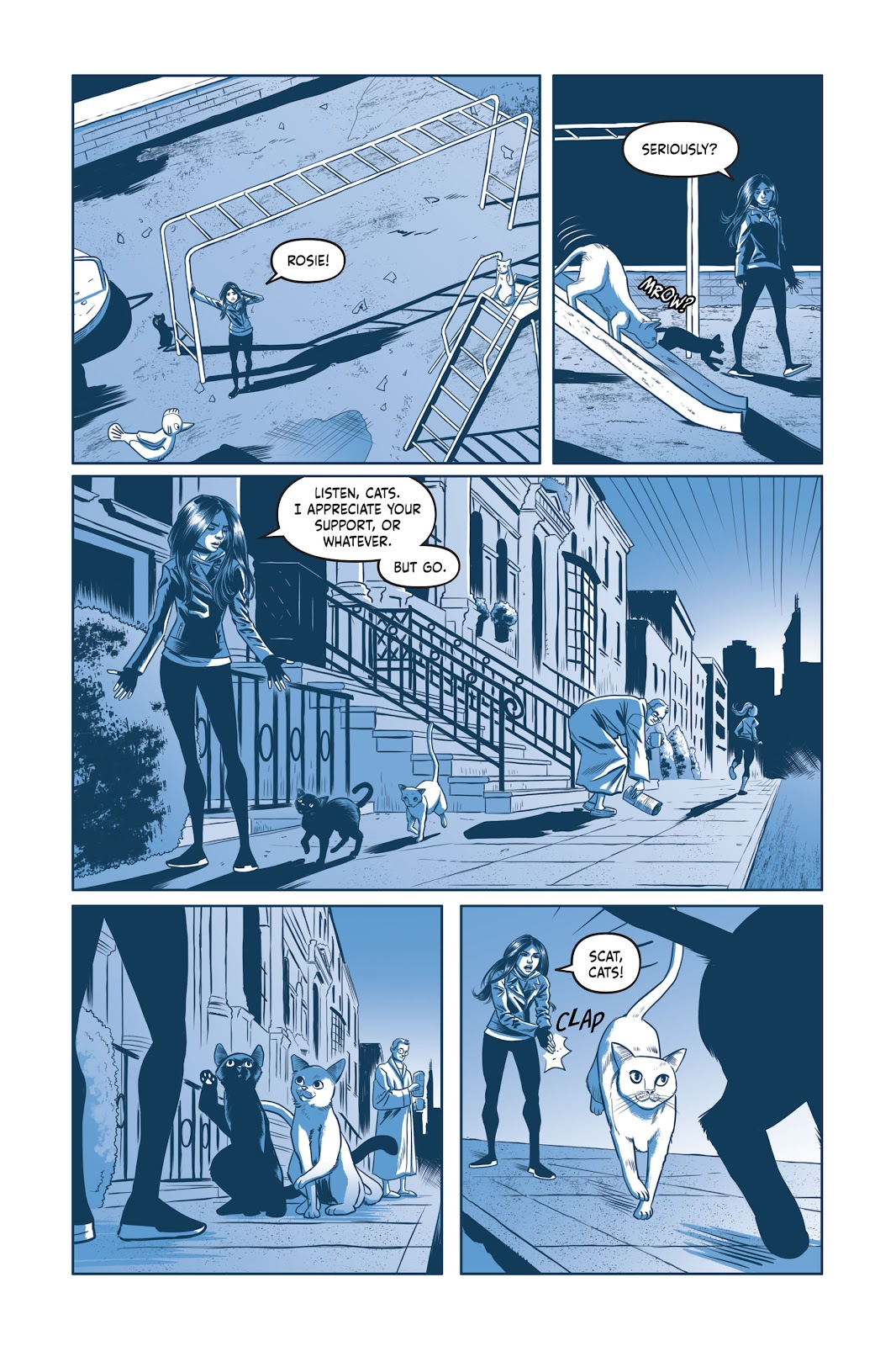 Read online Under the Moon: A Catwoman Tale comic -  Issue # TPB (Part 2) - 72