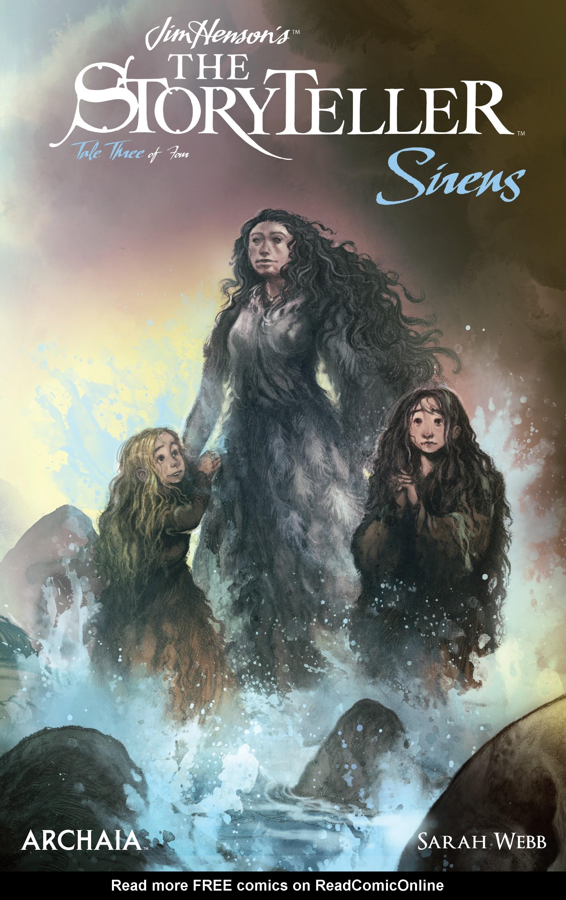Jim Hensons The Storyteller: Sirens 3 Page 1