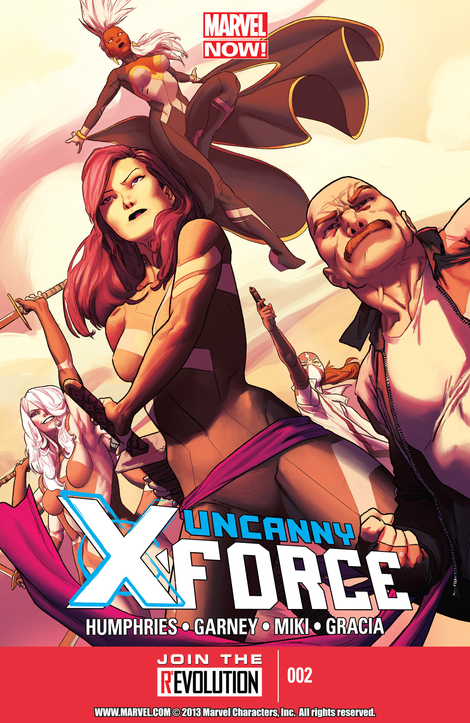Read online Uncanny X-Force (2013) comic -  Issue #2 - 1