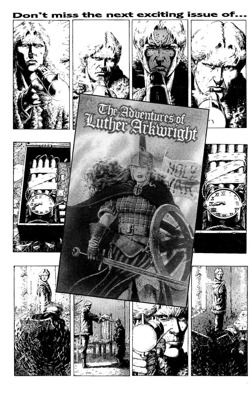 Read online The Adventures of Luther Arkwright comic -  Issue #7 - 30