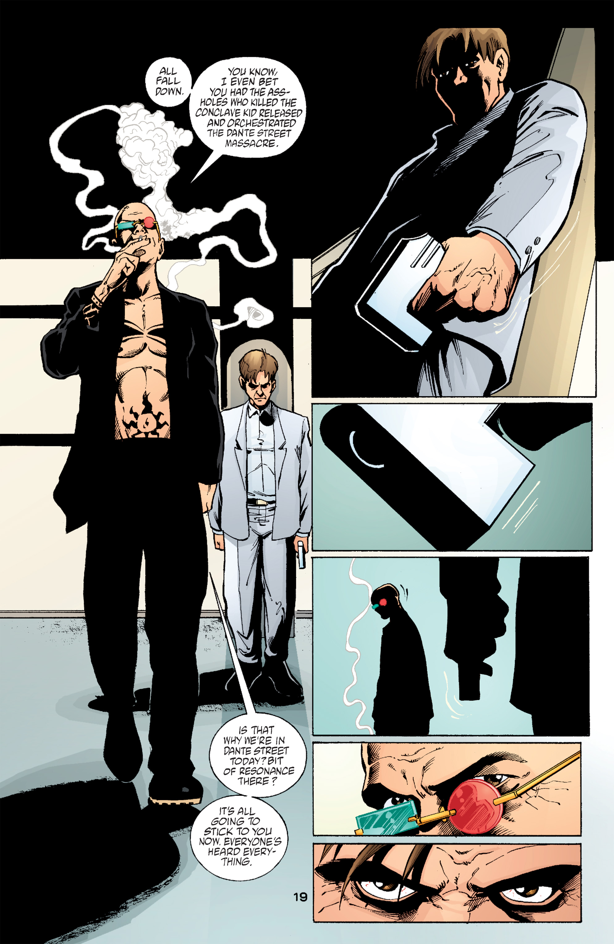 Read online Transmetropolitan comic -  Issue #59 - 19