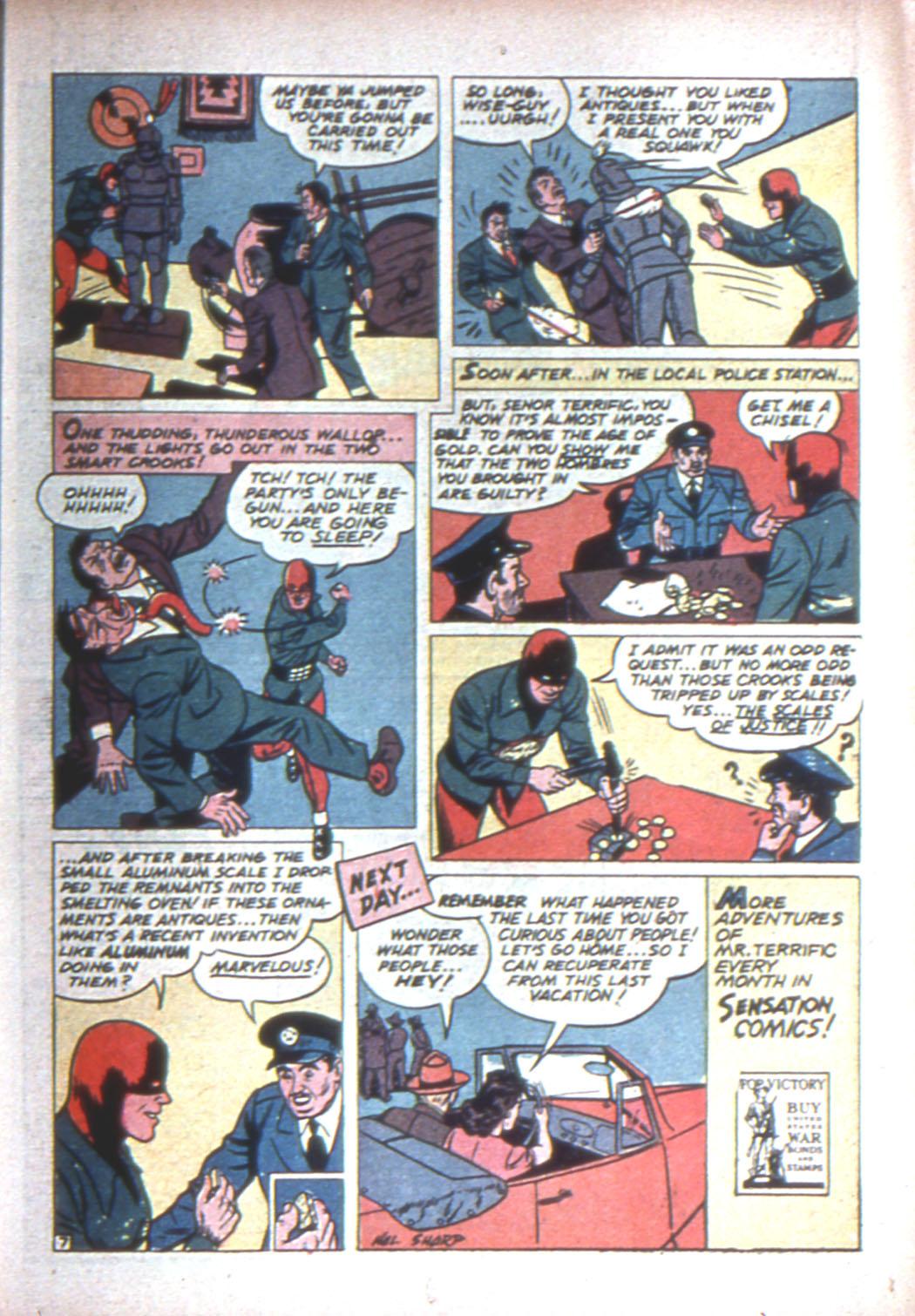 Read online Sensation (Mystery) Comics comic -  Issue #15 - 45