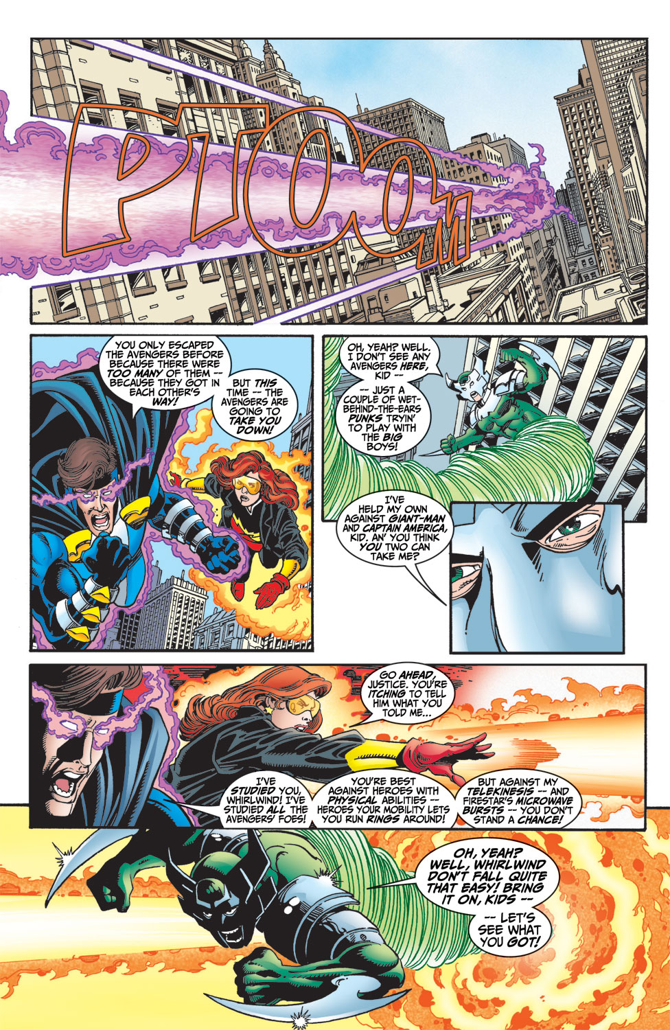 Read online Avengers (1998) comic -  Issue #4 - 17
