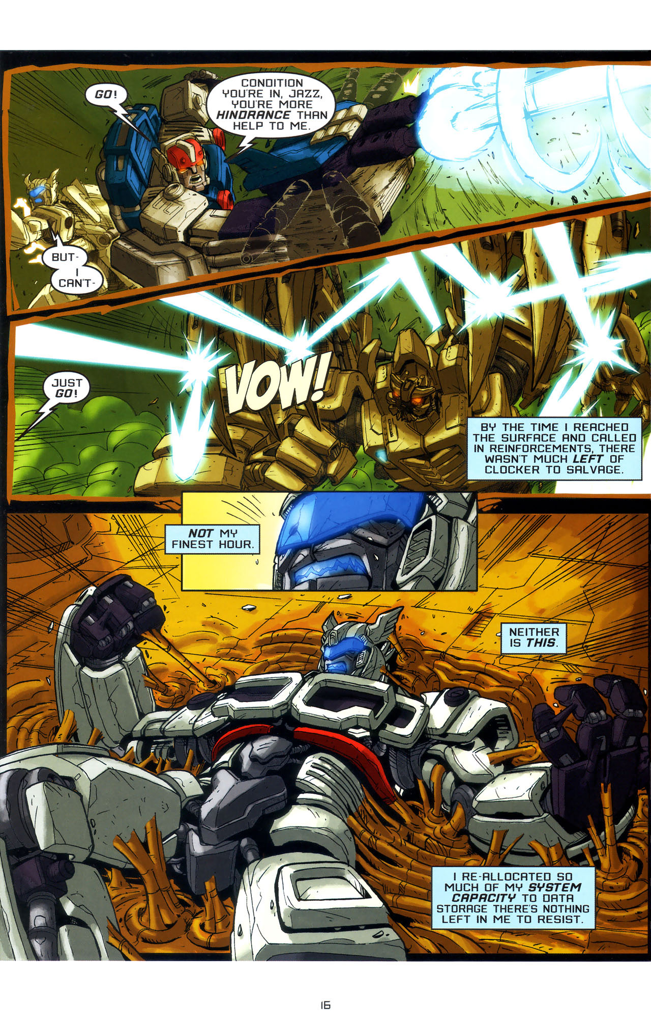 Read online Transformers: Saga of the Allspark comic -  Issue #3 - 19