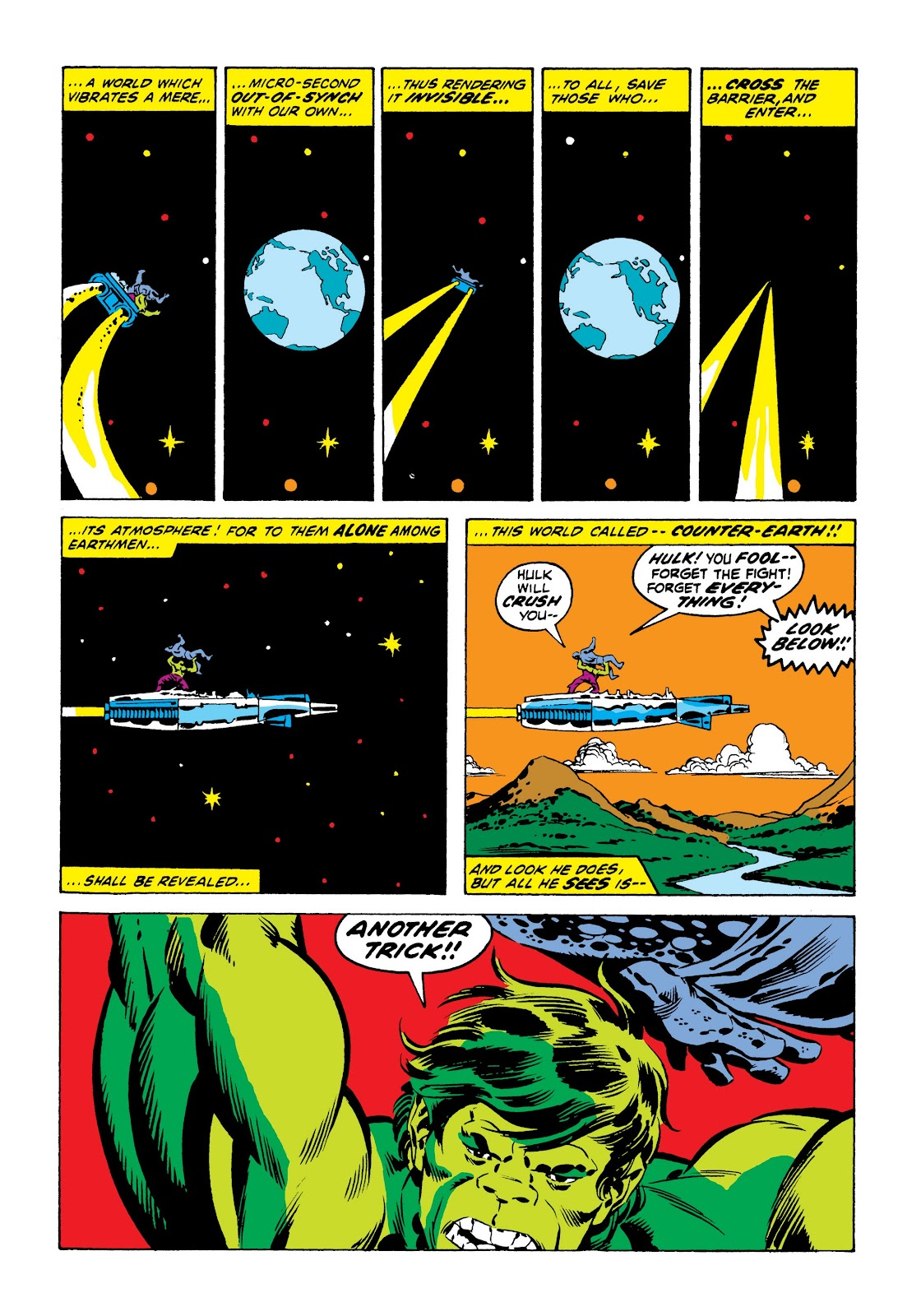Read online Marvel Masterworks: The Incredible Hulk comic -  Issue # TPB 9 (Part 1) - 35