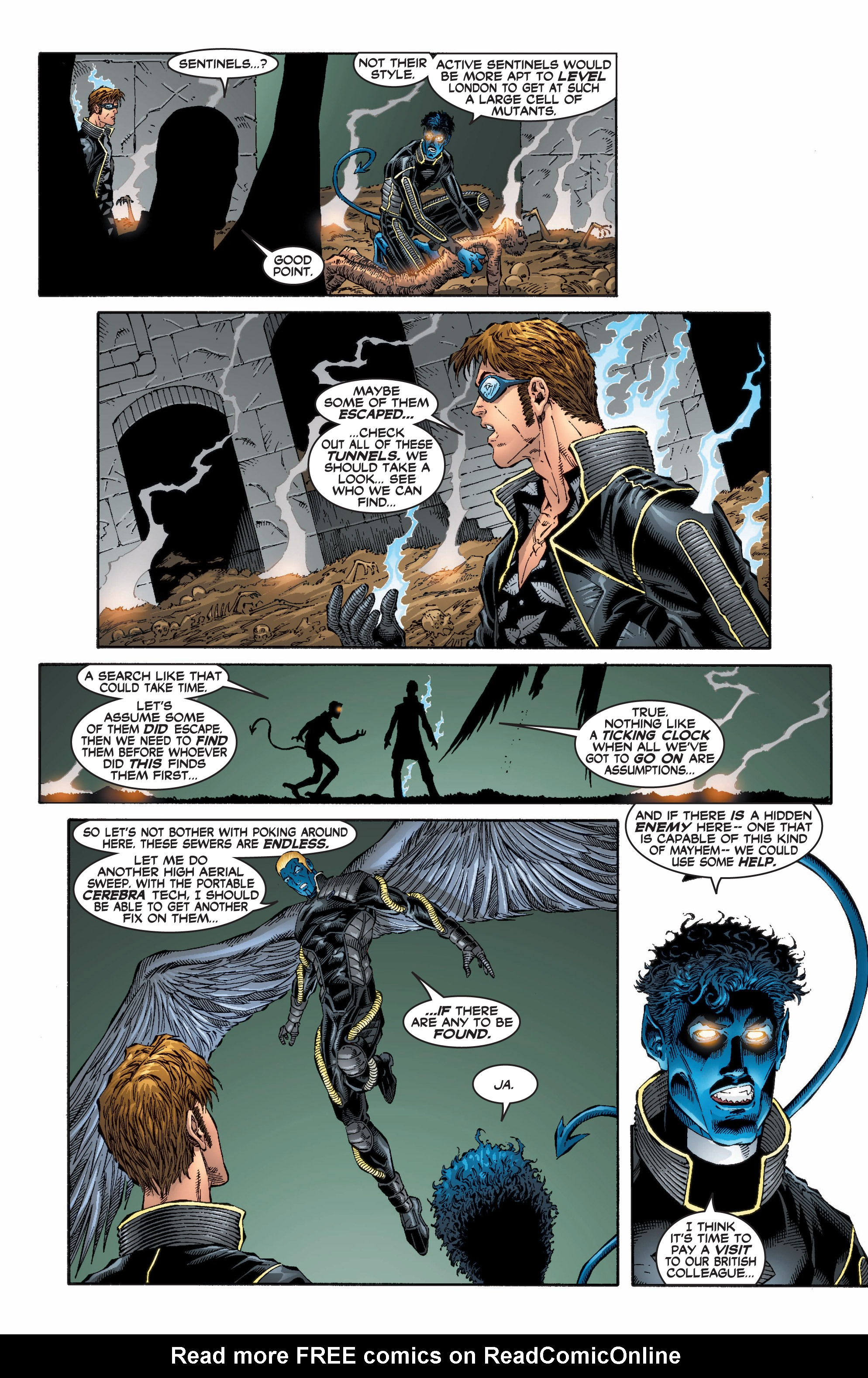 Read online Uncanny X-Men (1963) comic -  Issue #396 - 4