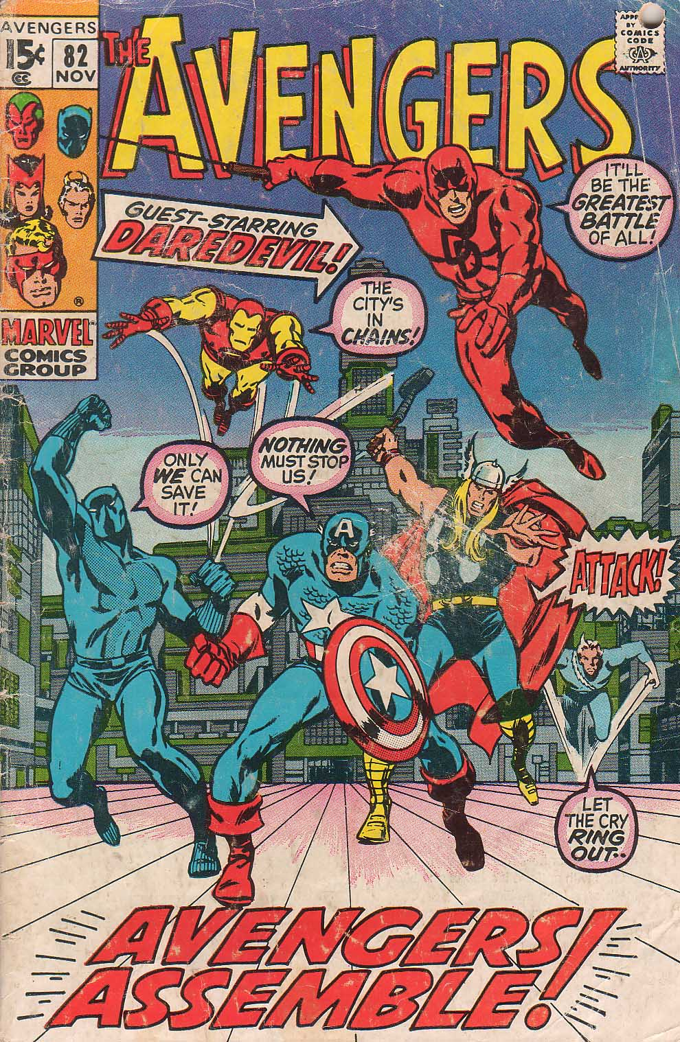 The Avengers (1963) issue 82 - Page 1