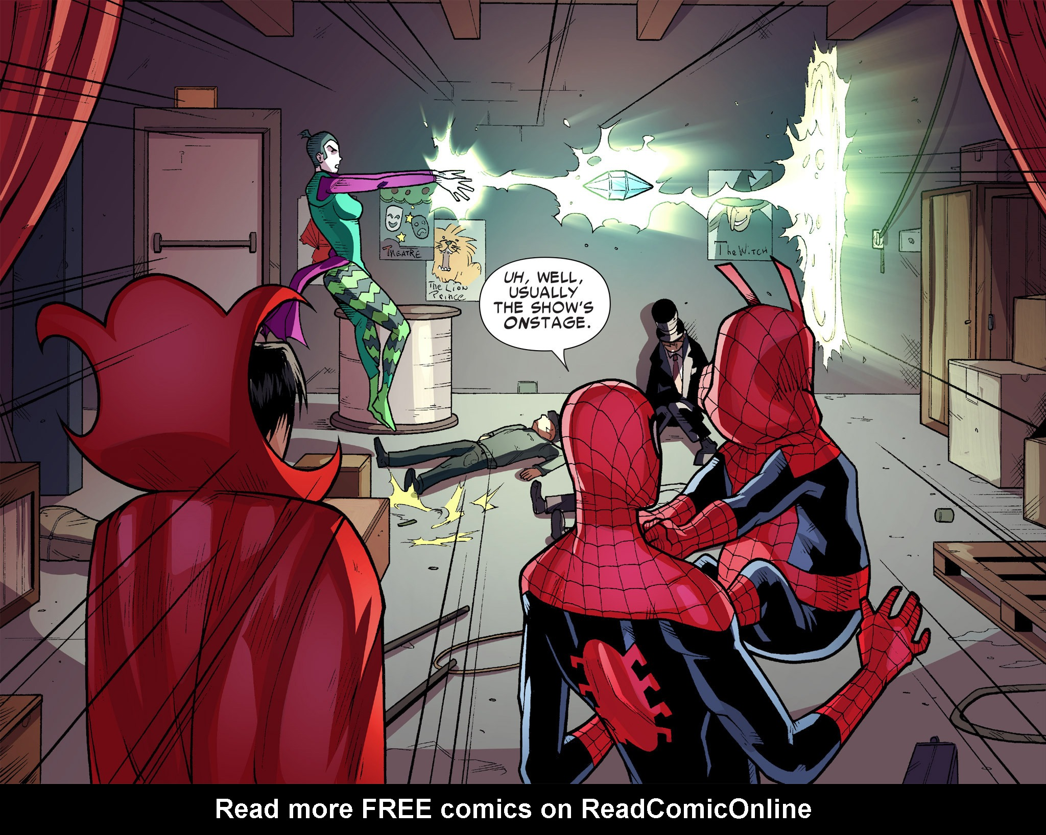 Read online Ultimate Spider-Man (Infinite Comics) (2016) comic -  Issue #9 - 27