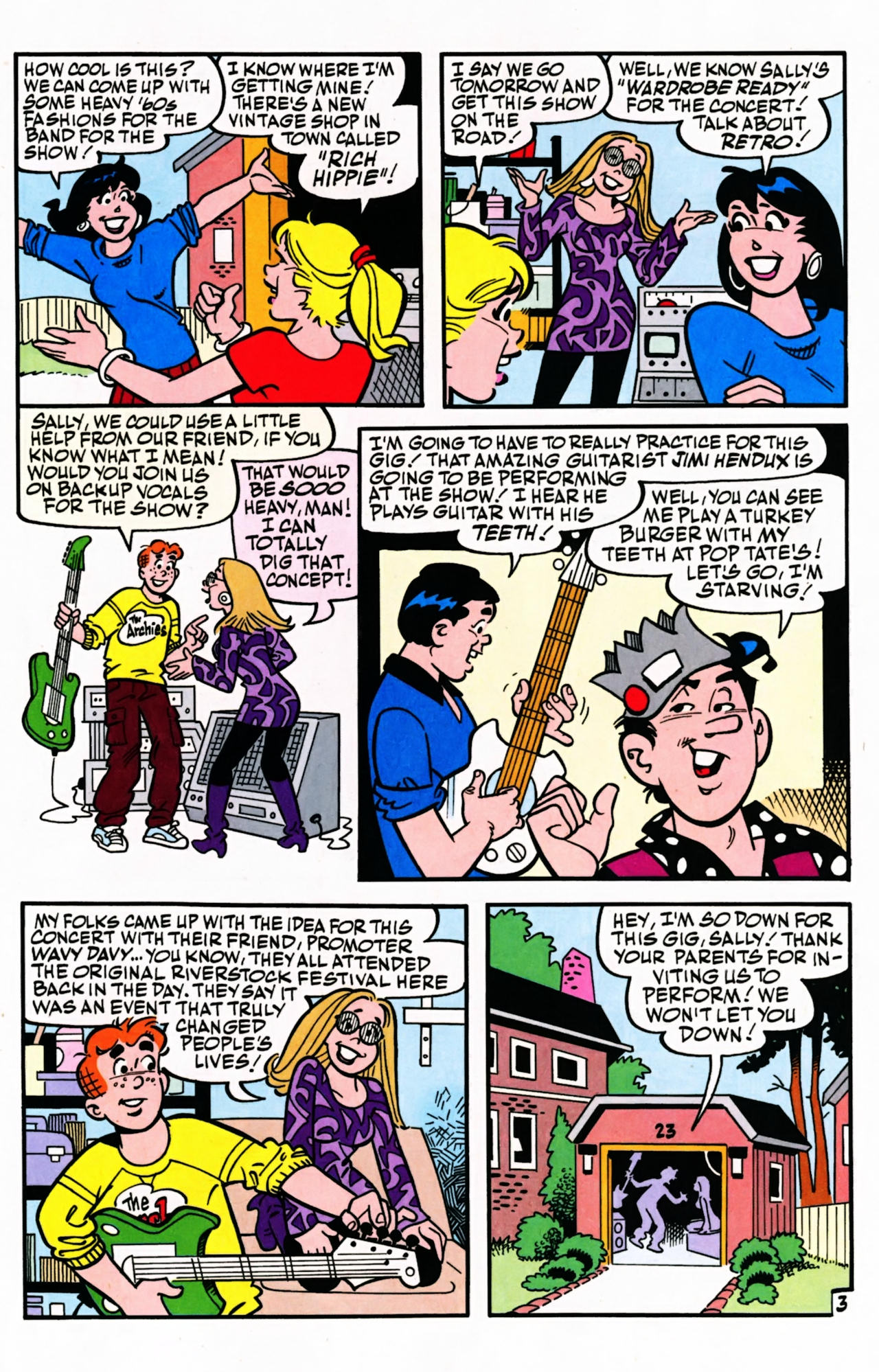 Read online Archie (1960) comic -  Issue #599 - 5