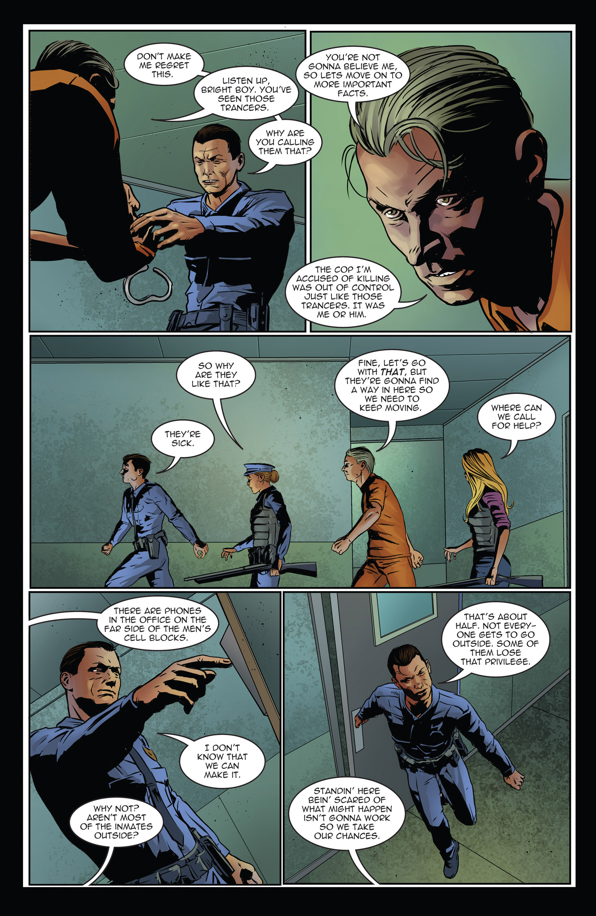 Read online Trancers comic -  Issue #3 - 9