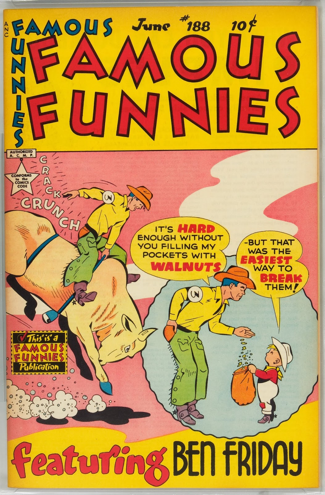 Read online Famous Funnies comic -  Issue #188 - 1