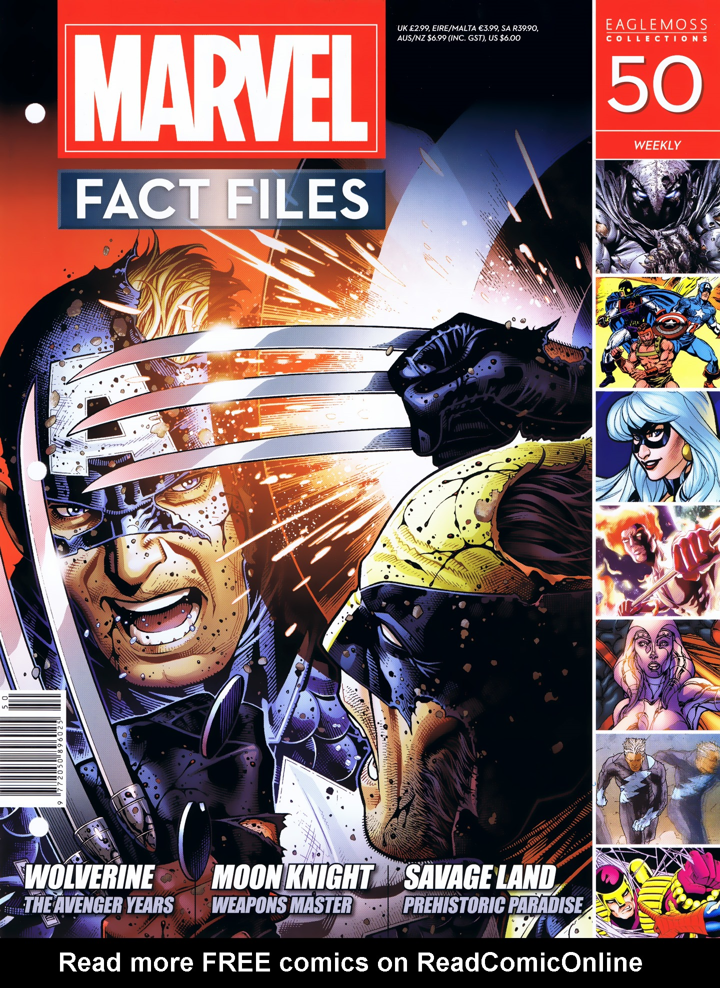 Marvel Fact Files 50 Page 1