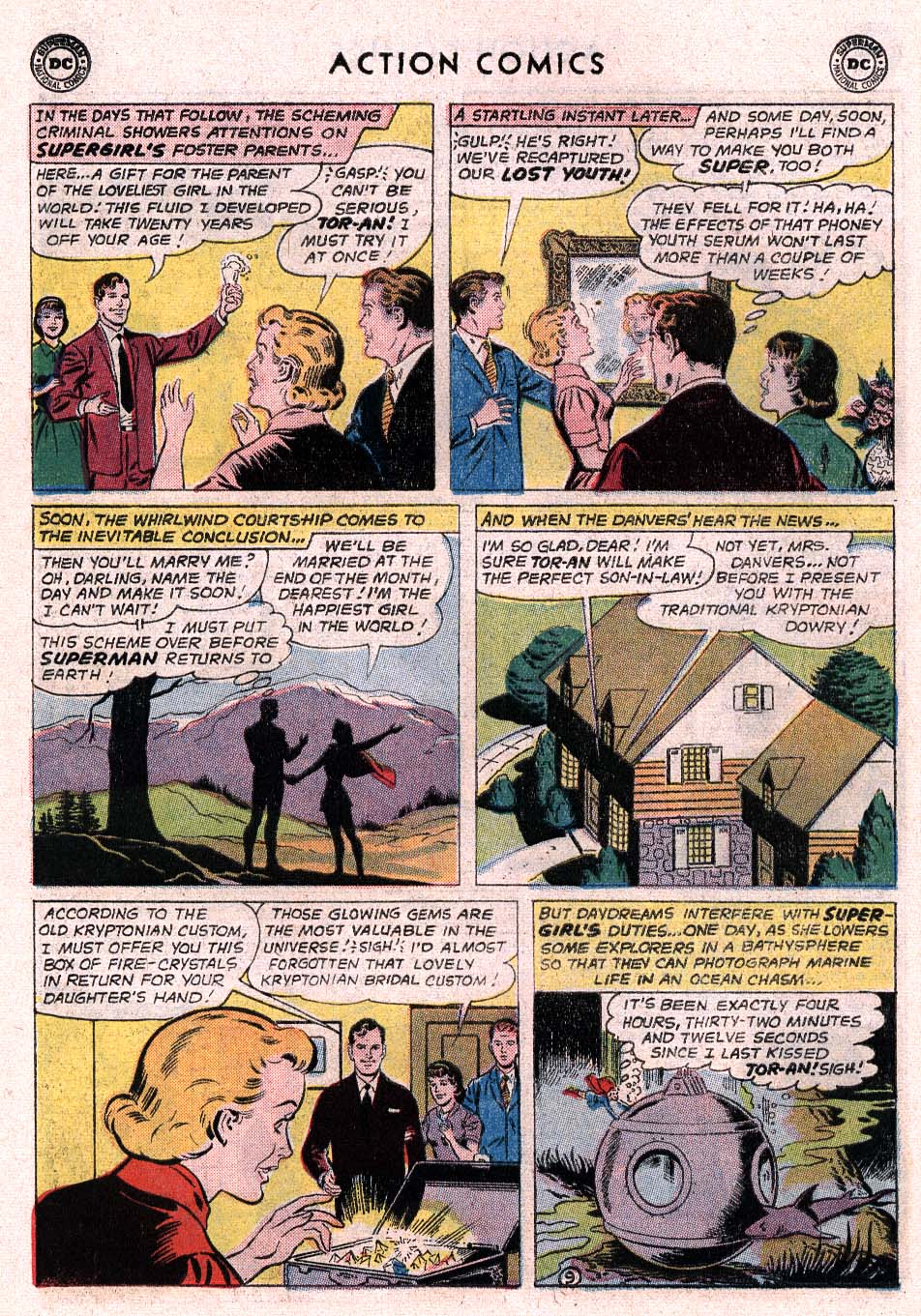 Read online Action Comics (1938) comic -  Issue #307 - 24