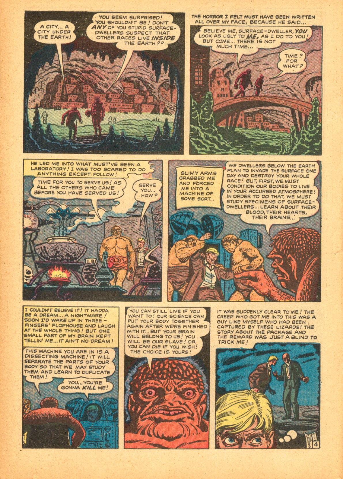 Read online Adventures into Weird Worlds comic -  Issue #3 - 6