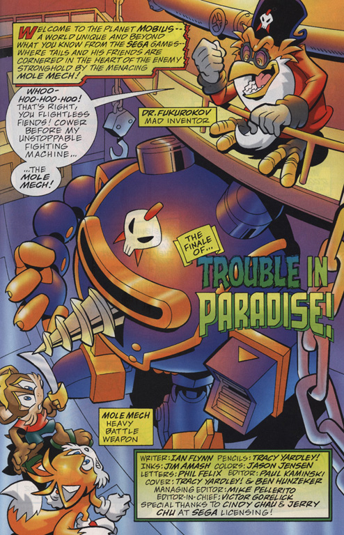 Read online Sonic Universe comic -  Issue #20 - 2
