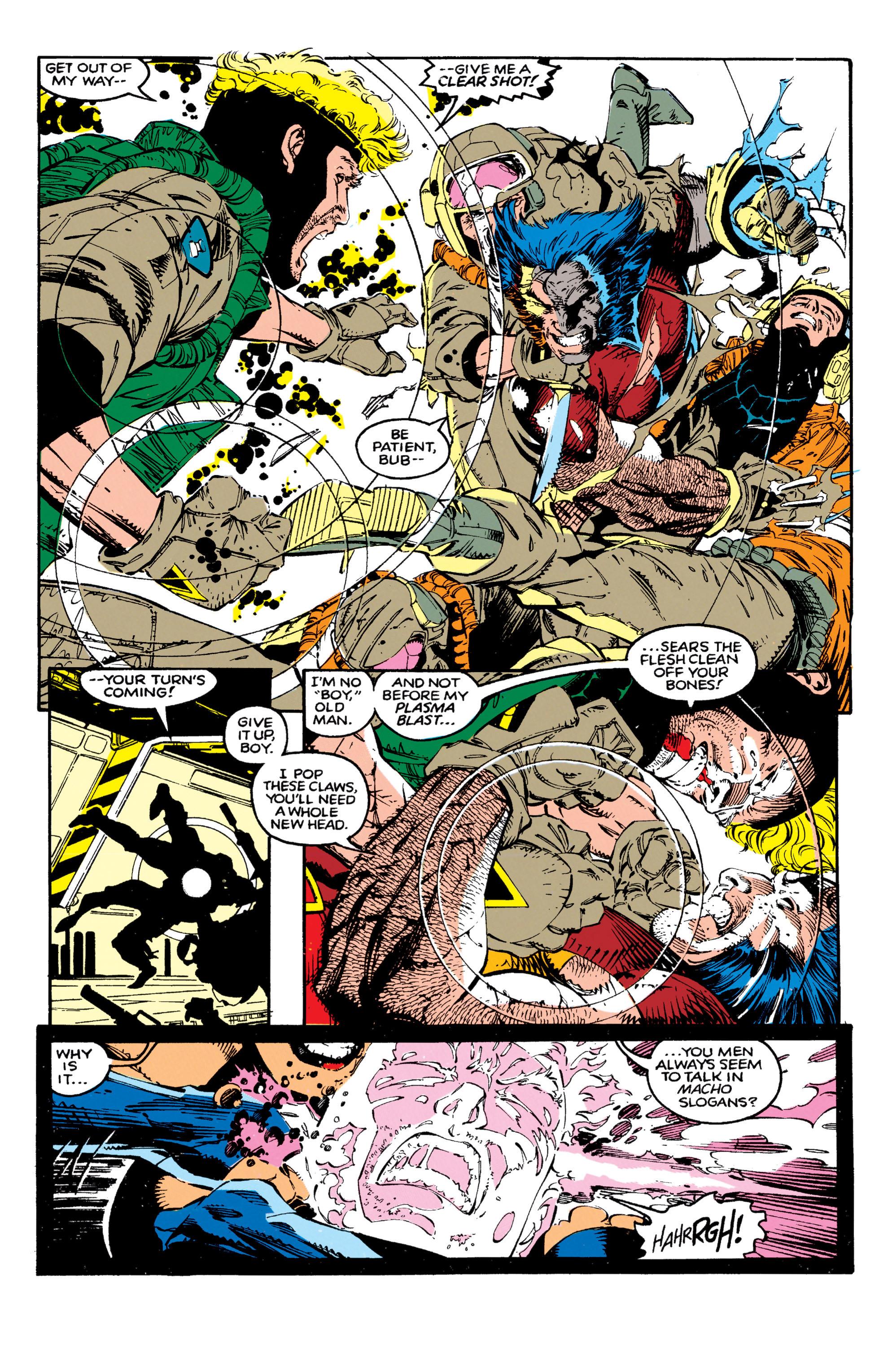 Read online Uncanny X-Men (1963) comic -  Issue #271 - 19