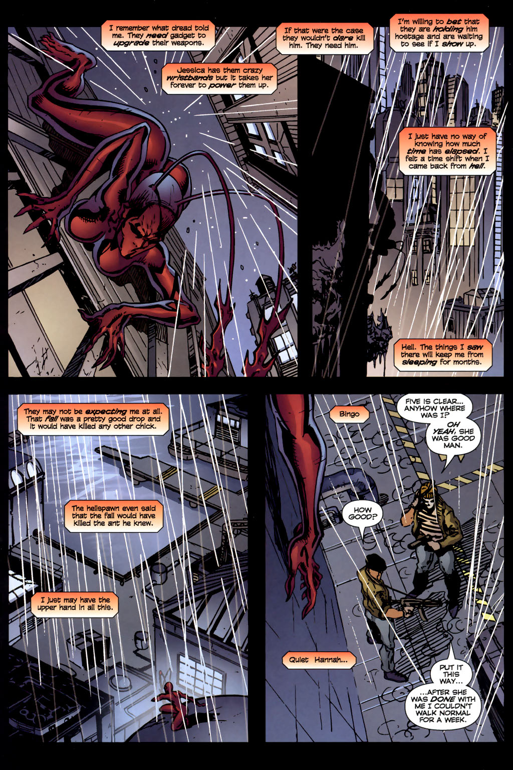 Read online Ant comic -  Issue #4 - 8