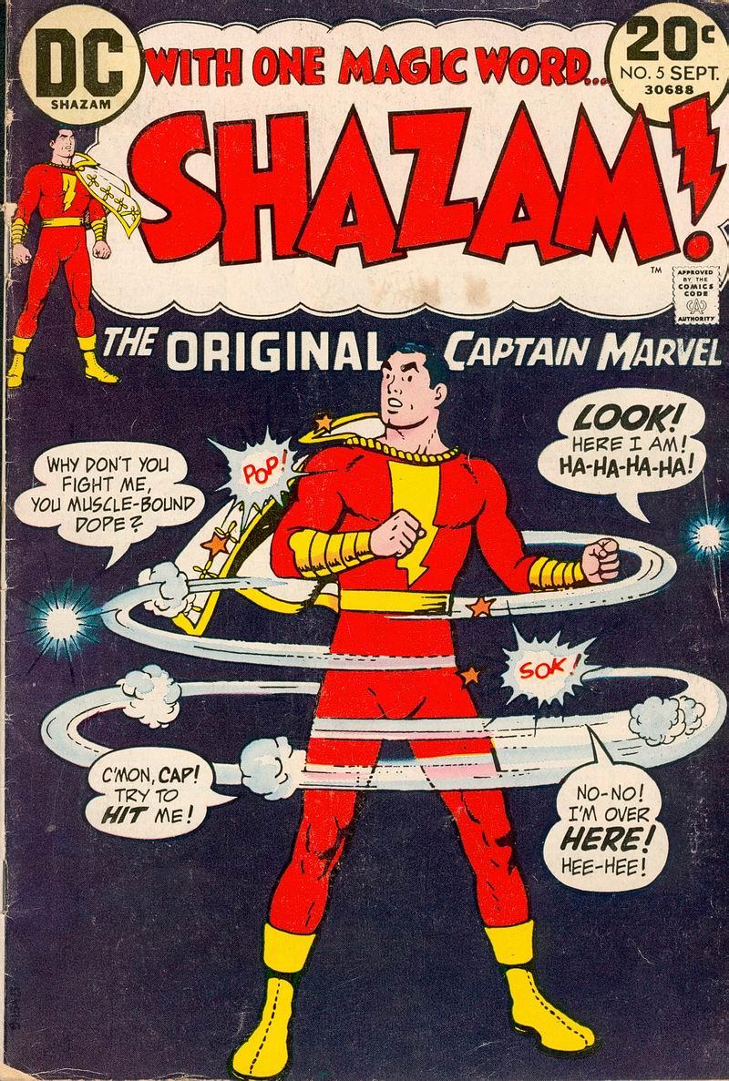 Read online Shazam! (1973) comic -  Issue #5 - 1