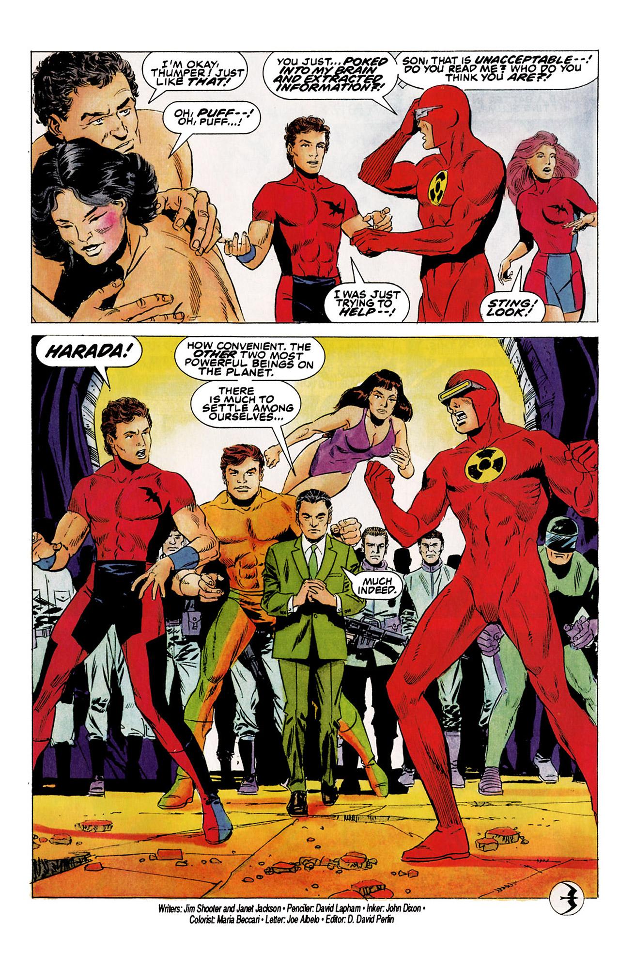 Read online Harbinger (1992) comic -  Issue #5 - 23