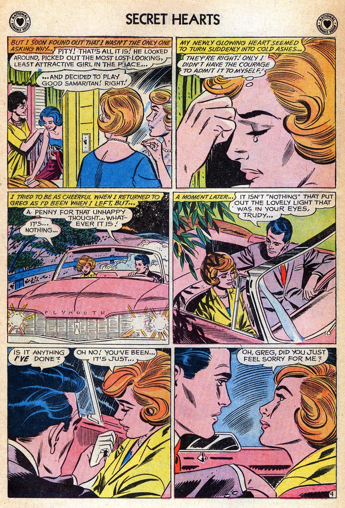 Read online Secret Hearts comic -  Issue #76 - 6