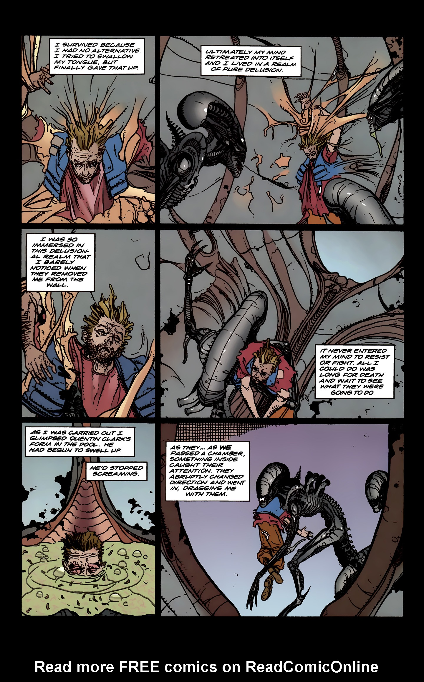 Read online Aliens: Labyrinth comic -  Issue #3 - 16