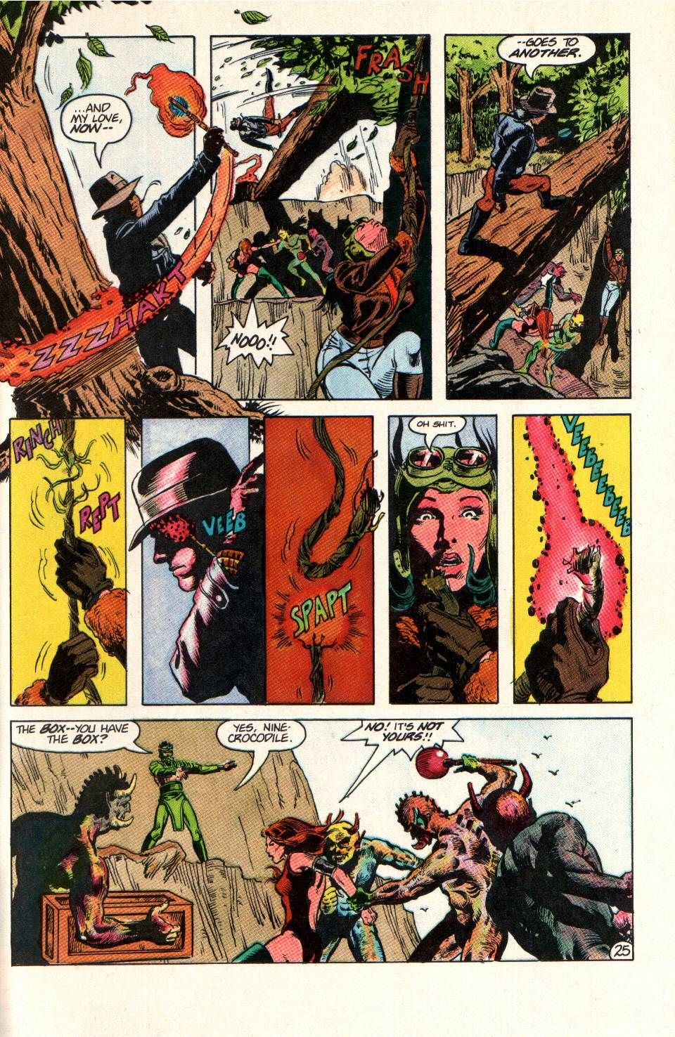 Read online Aztec Ace comic -  Issue #11 - 21