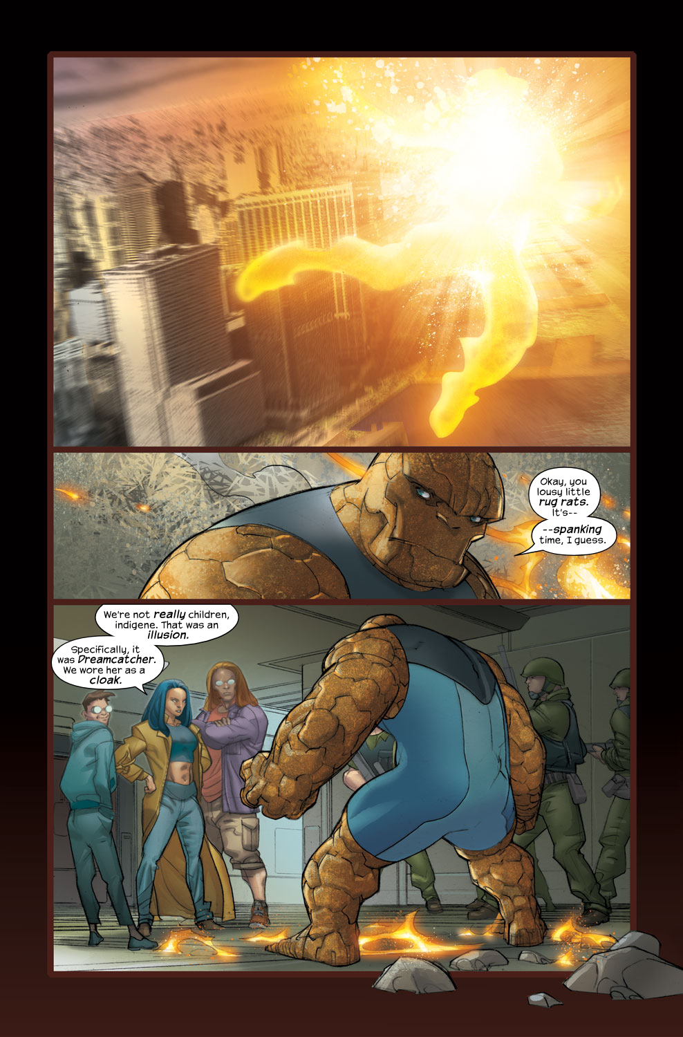 Read online Ultimate Fantastic Four (2004) comic -  Issue #34 - 4
