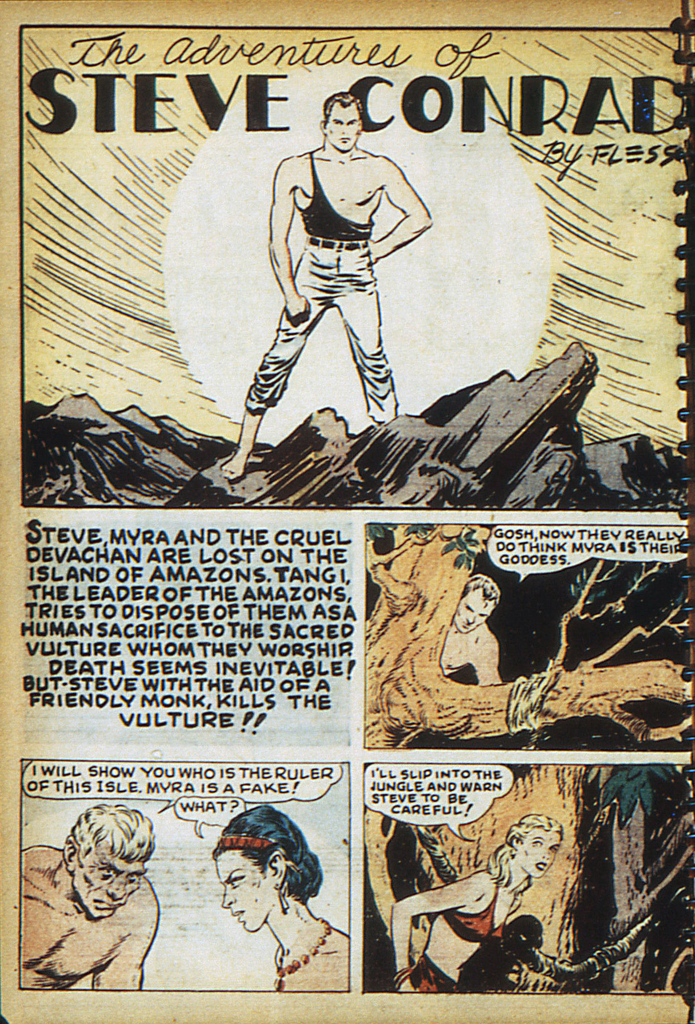 Read online Adventure Comics (1938) comic -  Issue #18 - 17