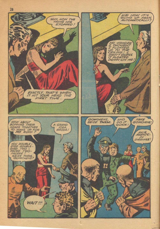 Read online Super-Magician Comics comic -  Issue #13 - 28