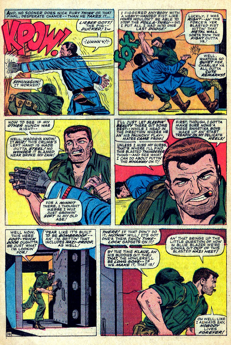 Read online Sgt. Fury comic -  Issue #39 - 20