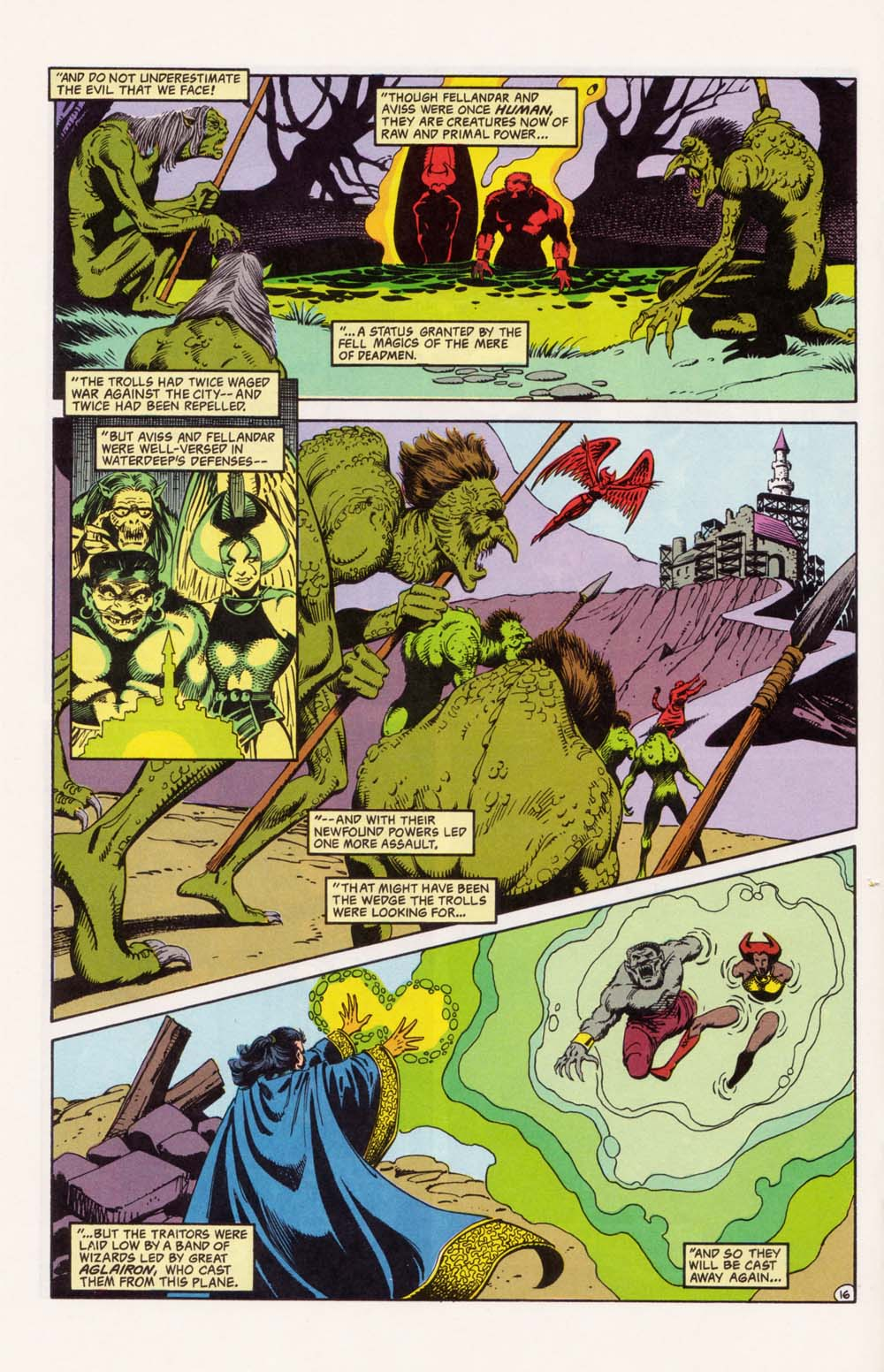 Read online Advanced Dungeons & Dragons comic -  Issue #33 - 16