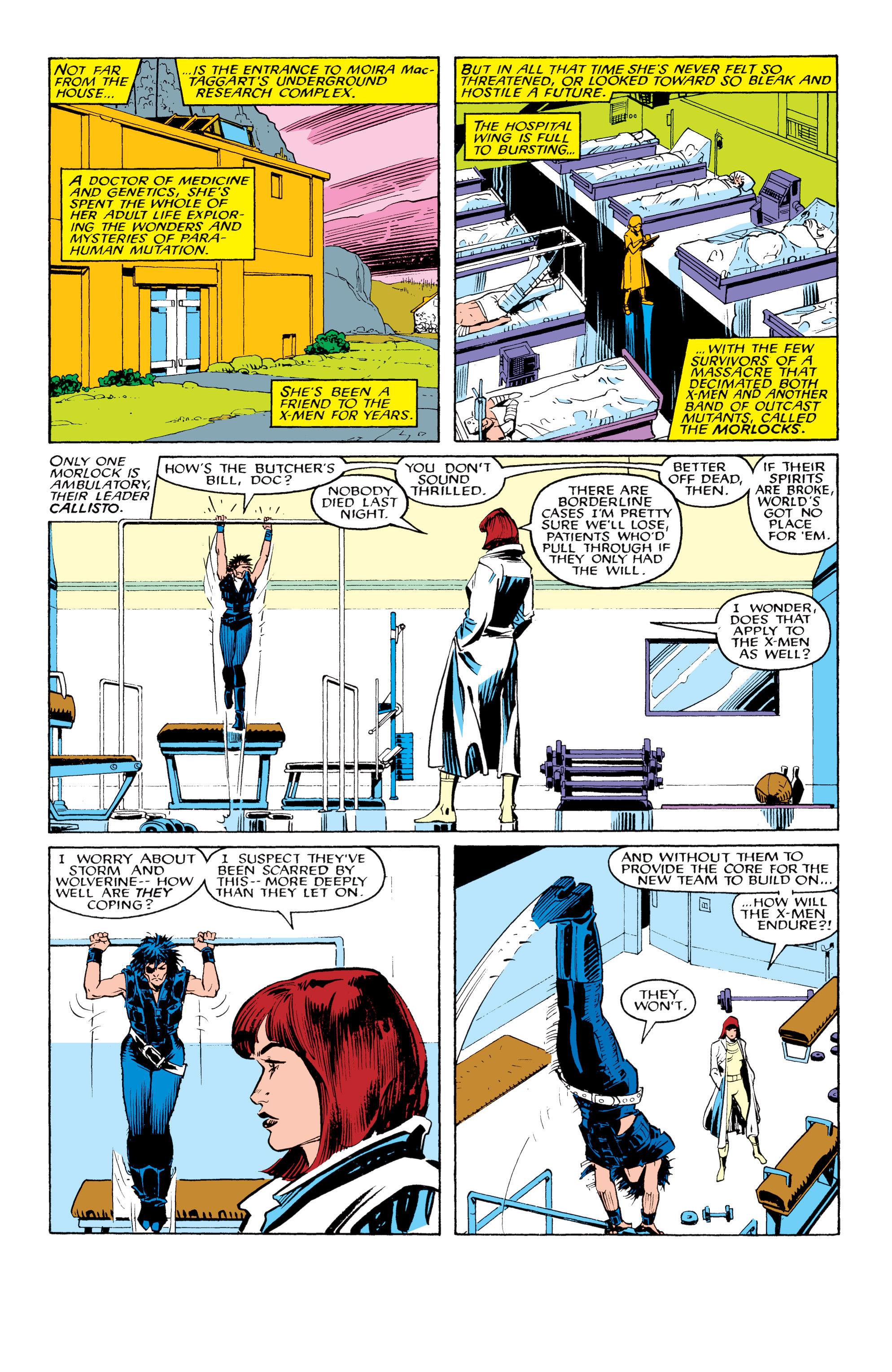 Read online Uncanny X-Men (1963) comic -  Issue #217 - 10