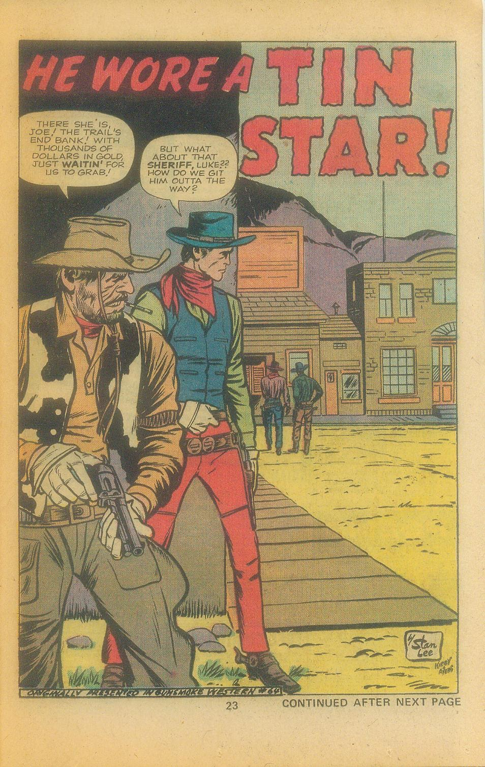 Kid Colt Outlaw issue 197 - Page 25