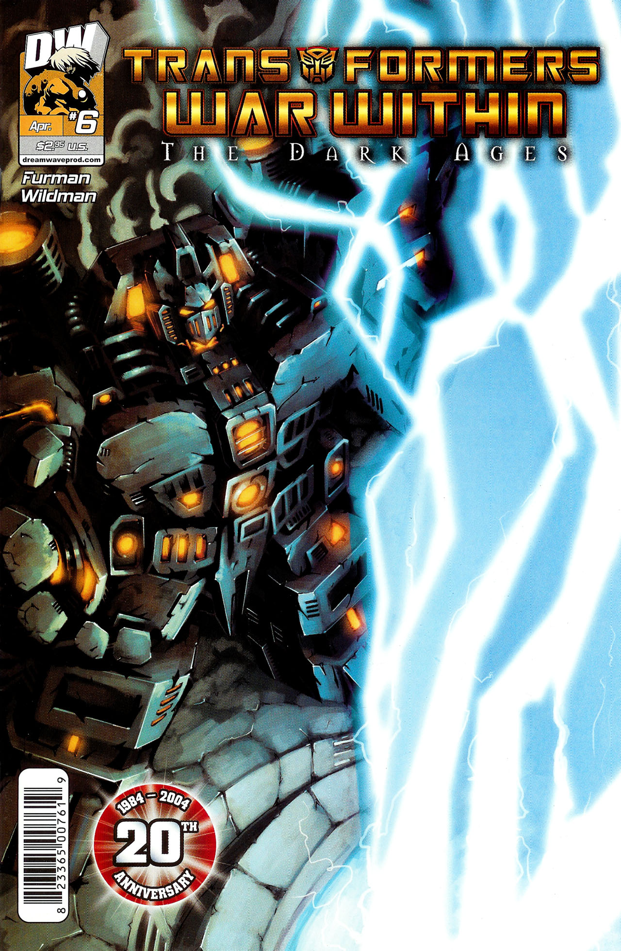 "Read online Transformers War Within: ""The Dark Ages"" comic -  Issue #6 - 1"